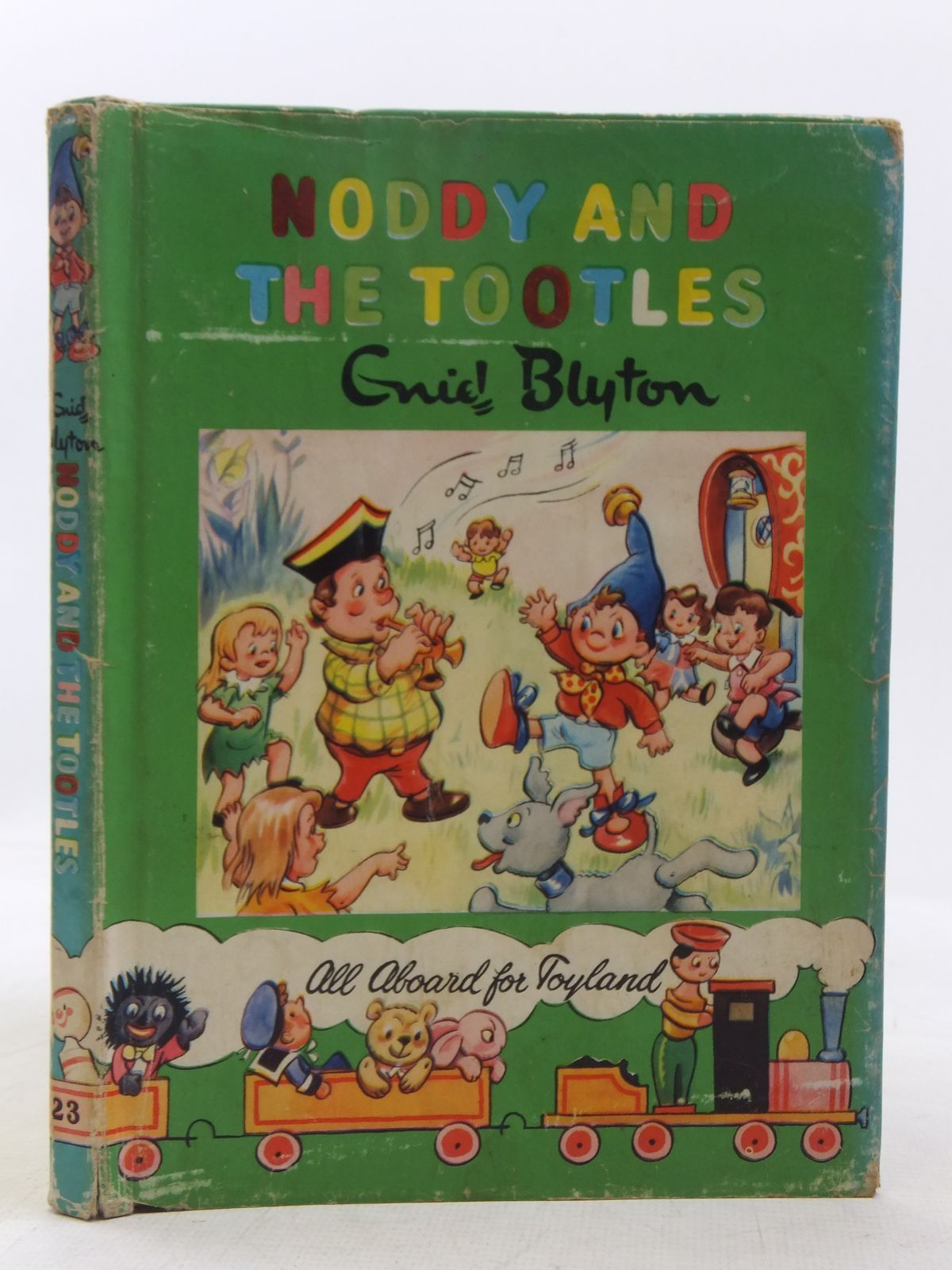 Photo of NODDY AND THE TOOTLES written by Blyton, Enid illustrated by Tyndall, Robert published by Sampson Low, Marston & Co. Ltd., The Richards Press Ltd. (STOCK CODE: 2118369)  for sale by Stella & Rose's Books