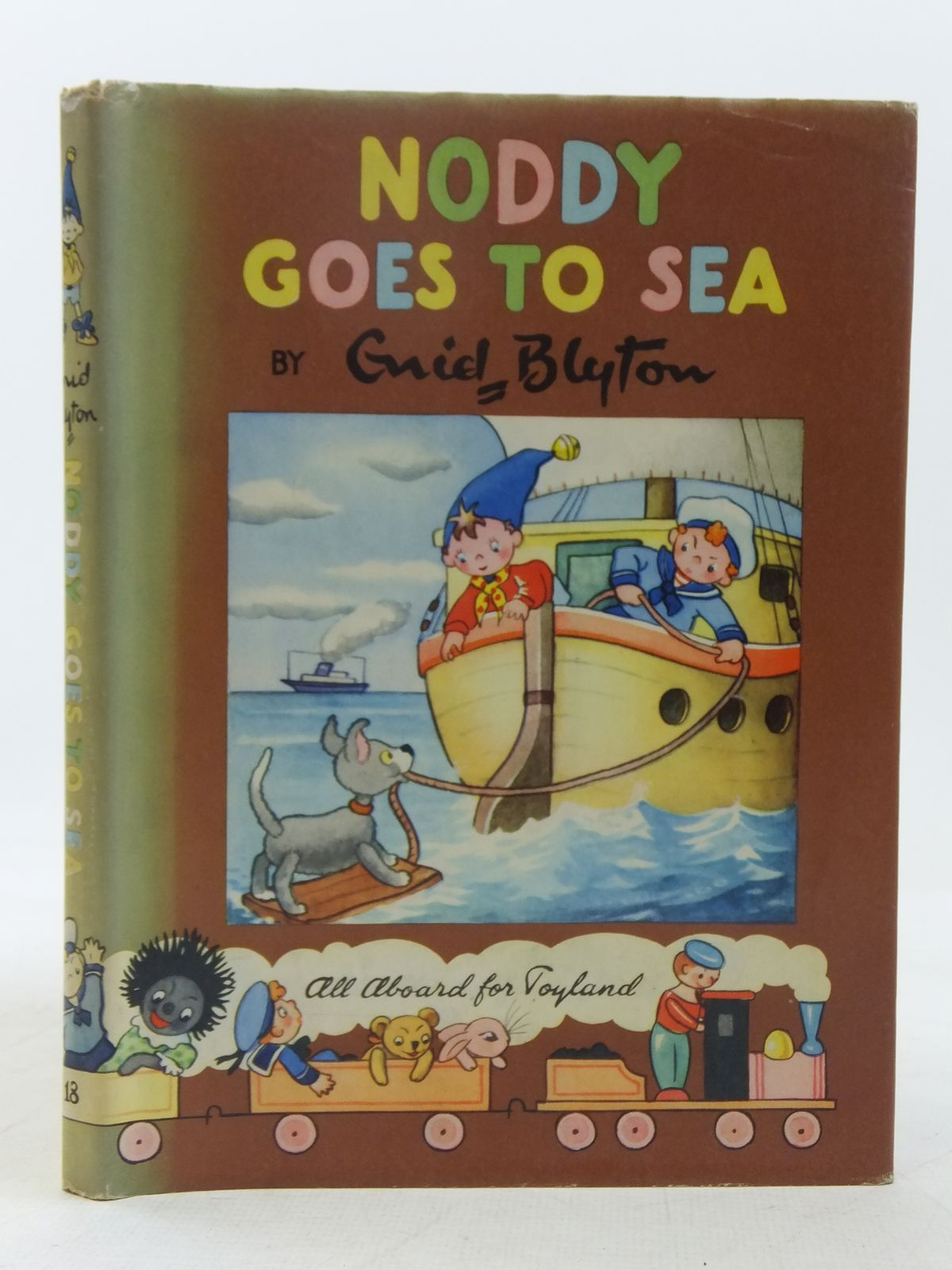 Photo of NODDY GOES TO SEA written by Blyton, Enid illustrated by Wienk, Peter published by Sampson Low, Marston & Co. Ltd., Dennis Dobson Ltd. (STOCK CODE: 2118370)  for sale by Stella & Rose's Books