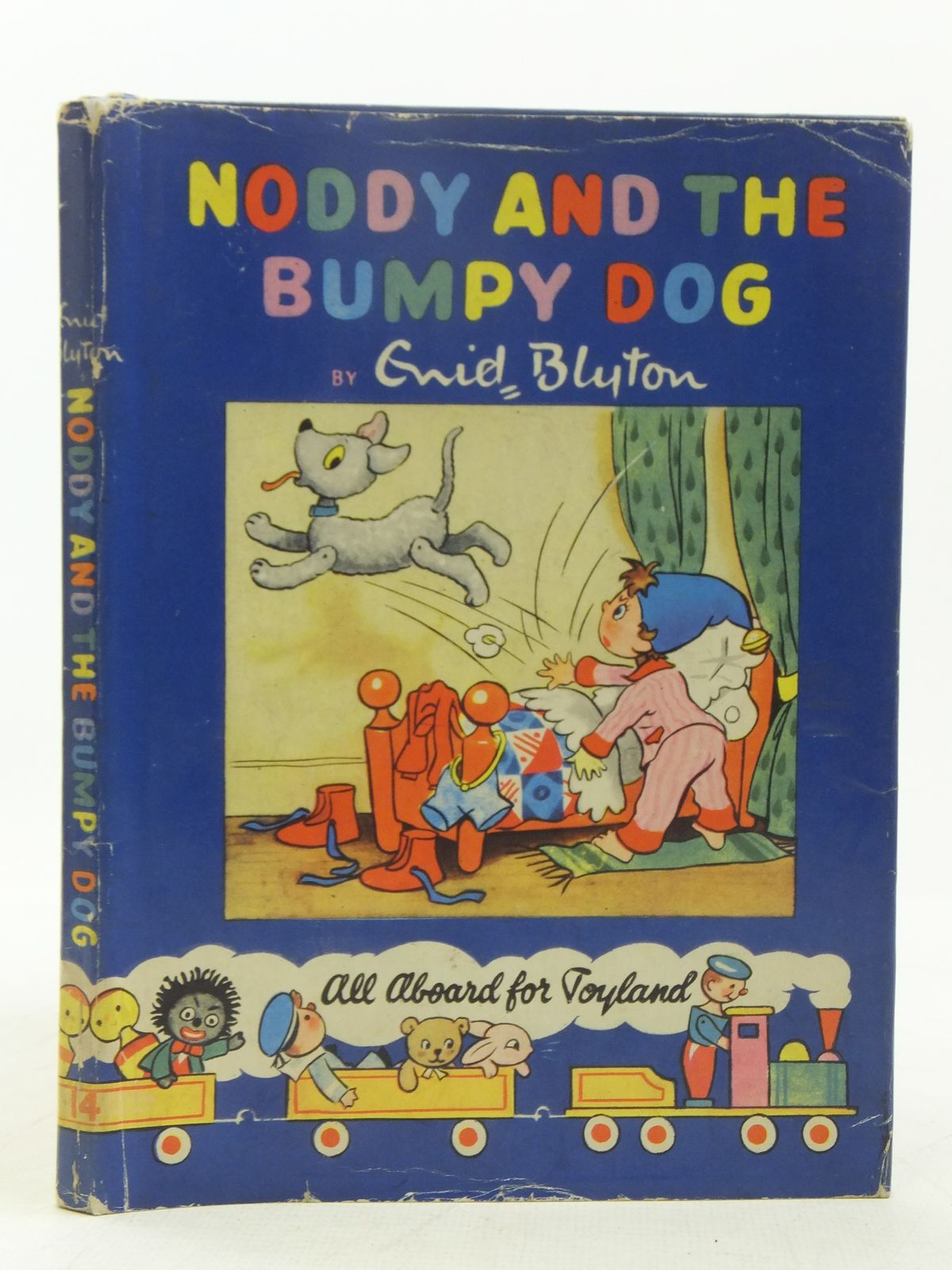 Photo of NODDY AND THE BUMPY DOG written by Blyton, Enid illustrated by Lee, Robert<br />Tyndall, Robert published by Sampson Low, Marston & Co. Ltd., Dennis Dobson Ltd. (STOCK CODE: 2118372)  for sale by Stella & Rose's Books