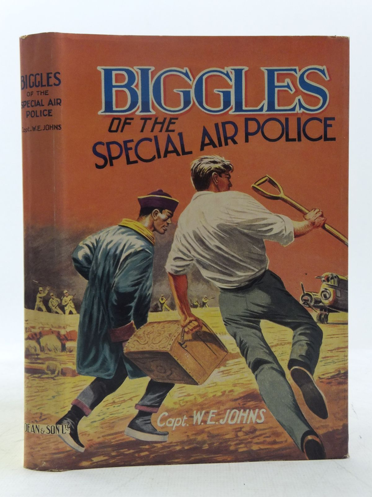 Photo of BIGGLES OF THE SPECIAL AIR POLICE written by Johns, W.E. published by Dean & Son Ltd. (STOCK CODE: 2118374)  for sale by Stella & Rose's Books