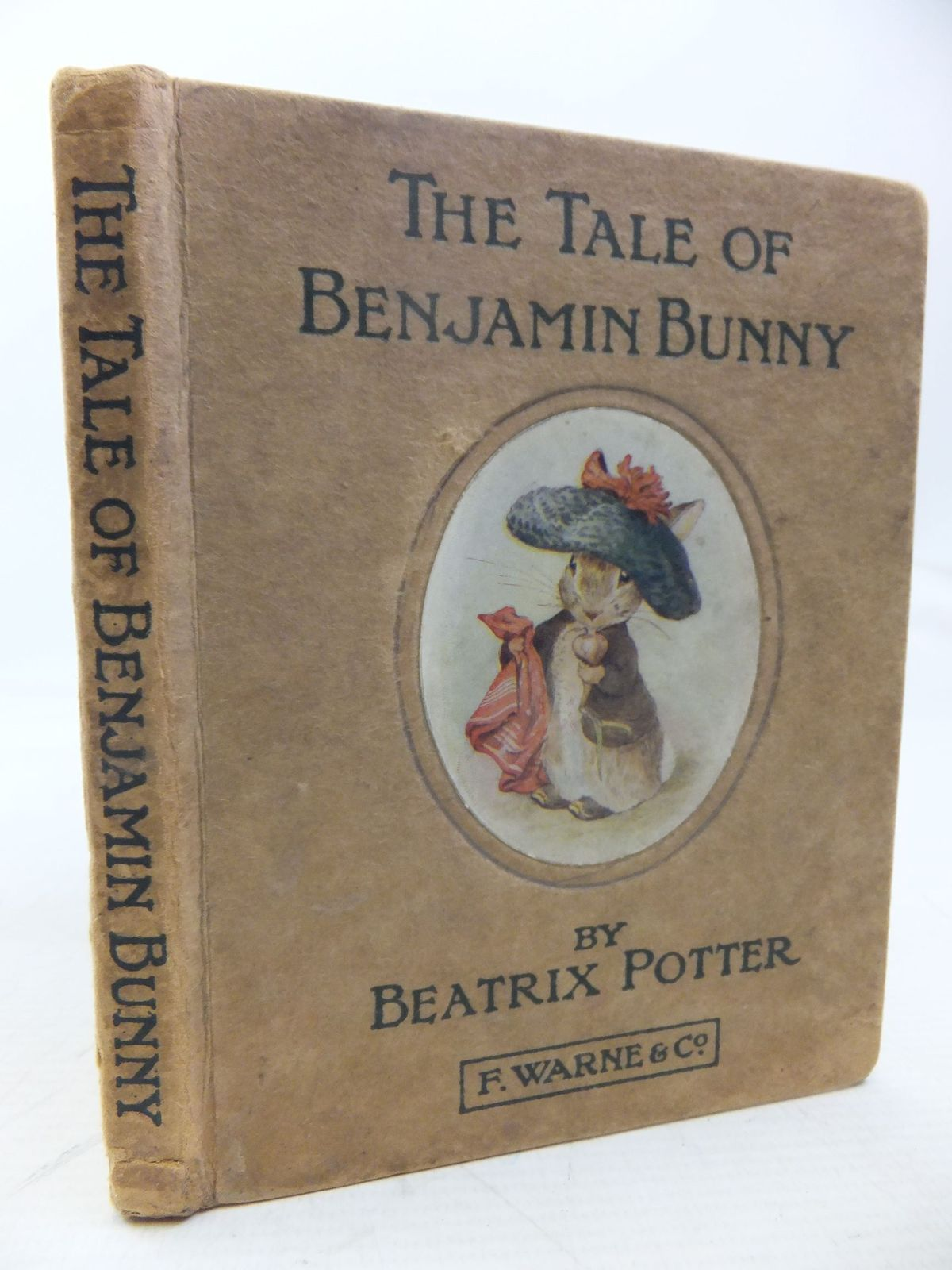 Photo of THE TALE OF BENJAMIN BUNNY written by Potter, Beatrix illustrated by Potter, Beatrix published by Frederick Warne & Co Ltd. (STOCK CODE: 2118398)  for sale by Stella & Rose's Books