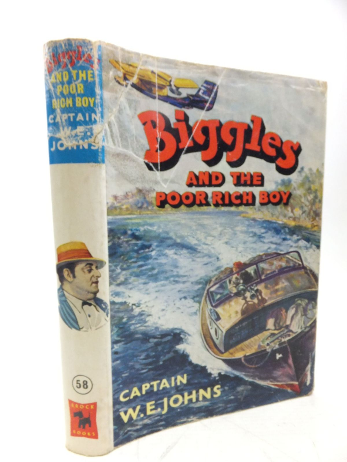 Photo of BIGGLES AND THE POOR RICH BOY written by Johns, W.E. illustrated by Stead, Leslie published by Brockhampton Press (STOCK CODE: 2118434)  for sale by Stella & Rose's Books