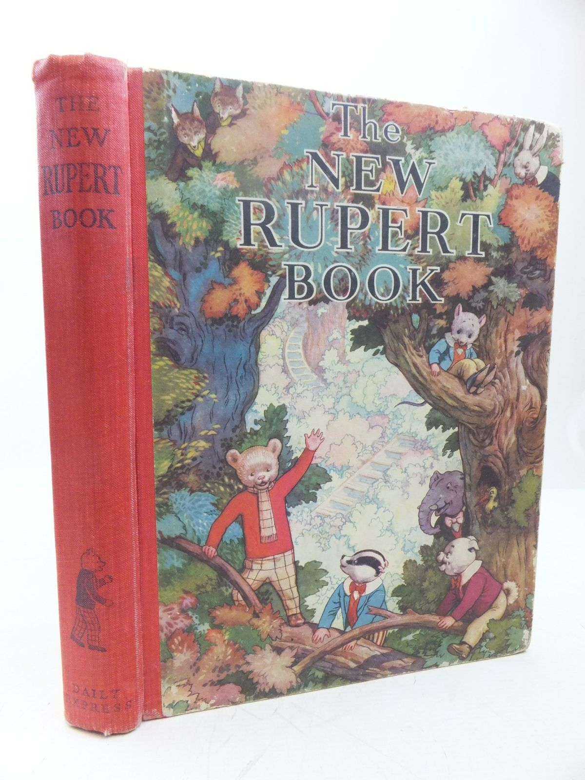 Photo of RUPERT ANNUAL 1938 - THE NEW RUPERT BOOK written by Bestall, Alfred illustrated by Bestall, Alfred published by Daily Express (STOCK CODE: 2118452)  for sale by Stella & Rose's Books