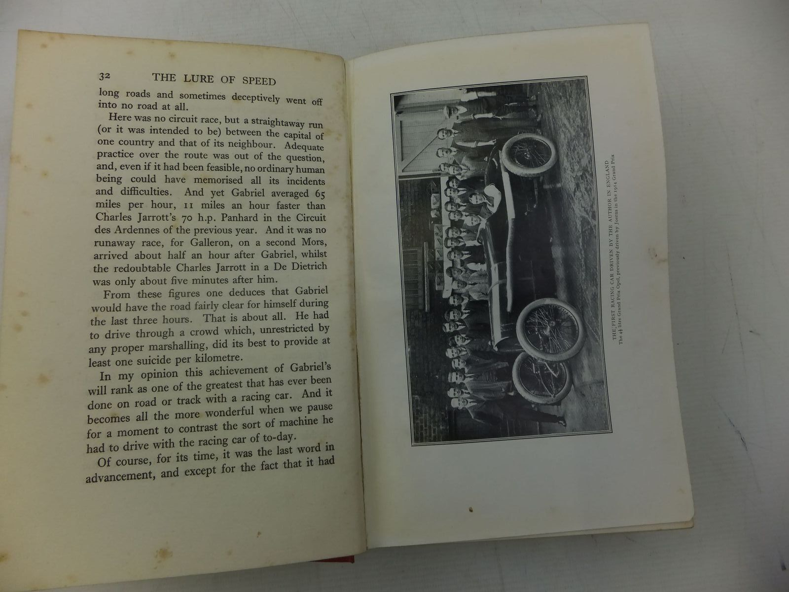 Photo of THE LURE OF SPEED written by Segrave, Henry published by Hutchinson (STOCK CODE: 2118457)  for sale by Stella & Rose's Books