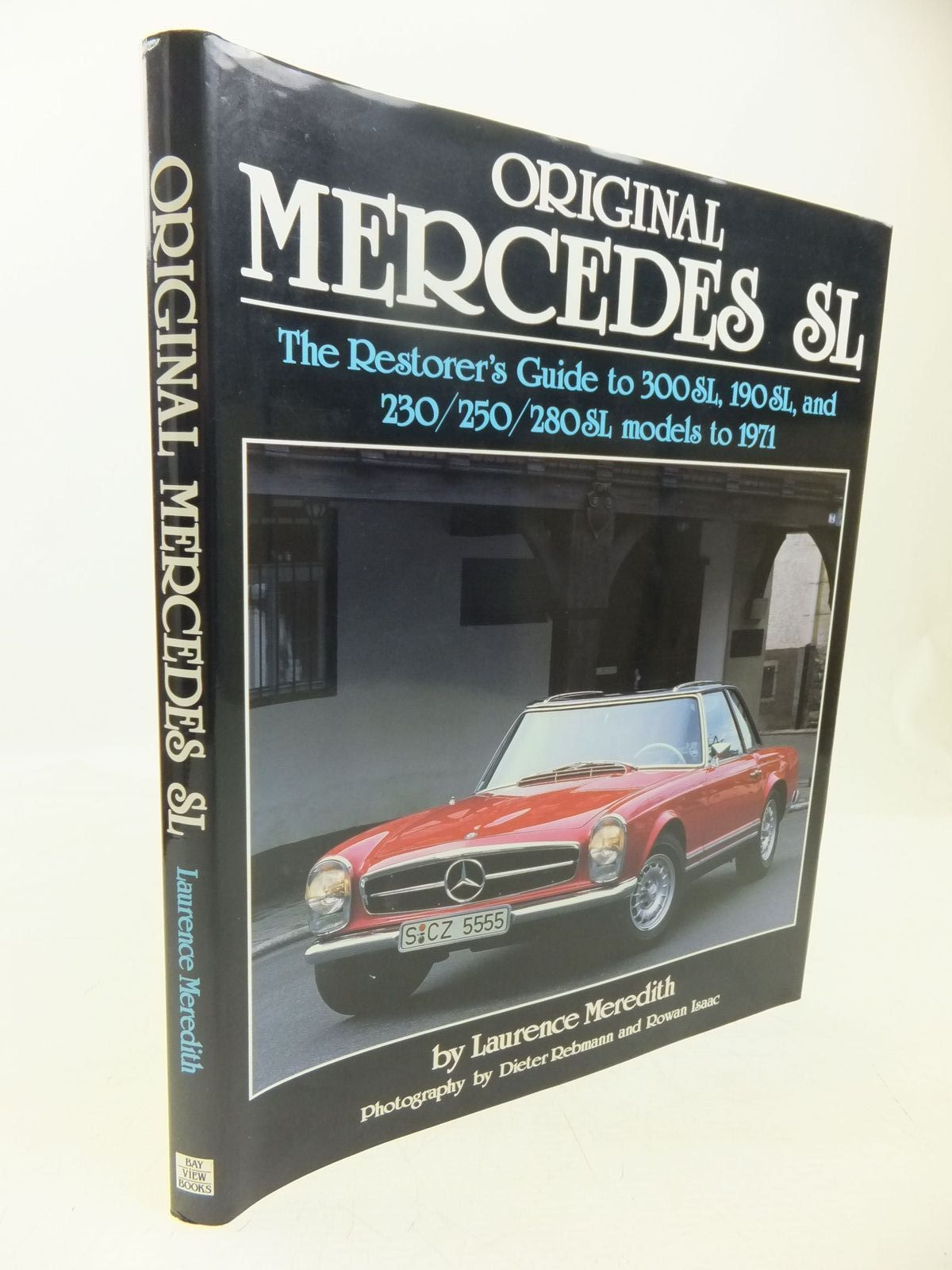 Photo of ORIGINAL MERCEDES SL written by Meredith, Laurence<br />Hughes, Mark published by Bay View Books (STOCK CODE: 2118460)  for sale by Stella & Rose's Books