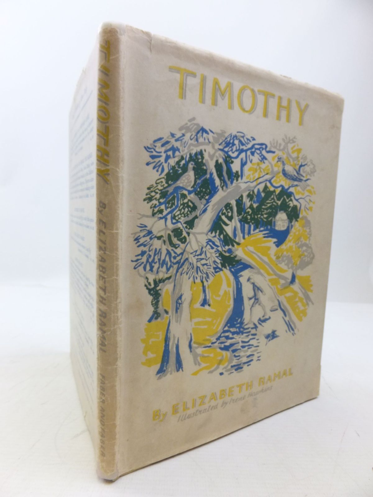 Photo of TIMOTHY written by Ramal, Elizabeth illustrated by Hawkins, Irene published by Faber & Faber Ltd. (STOCK CODE: 2118522)  for sale by Stella & Rose's Books