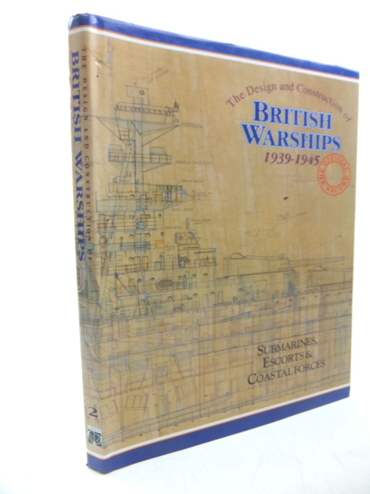 Photo of THE DESIGN AND CONSTRUCTION OF BRITISH WARSHIPS 1939-1945 written by Brown, David K. published by Conway Maritime Press (STOCK CODE: 2118599)  for sale by Stella & Rose's Books