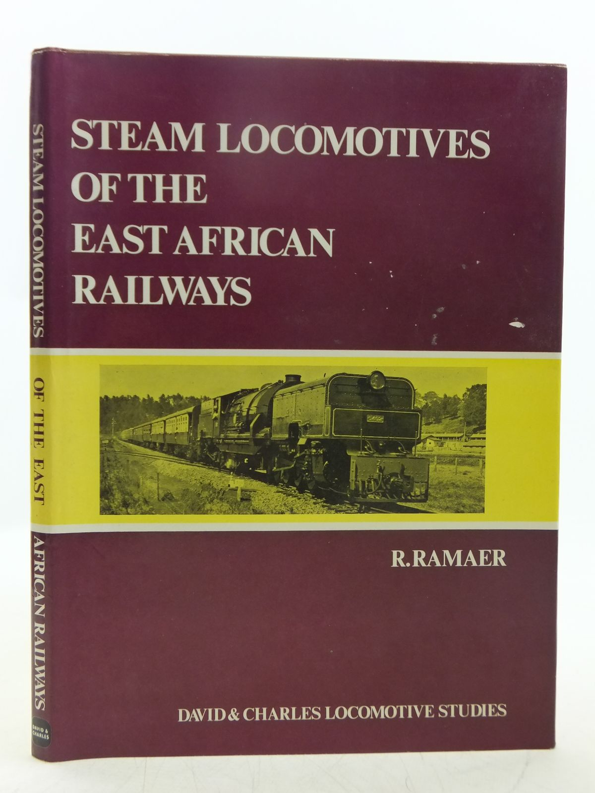 Photo of STEAM LOCOMOTIVES OF THE EAST AFRICAN RAILWAYS written by Ramaer, R. published by David & Charles (STOCK CODE: 2118672)  for sale by Stella & Rose's Books