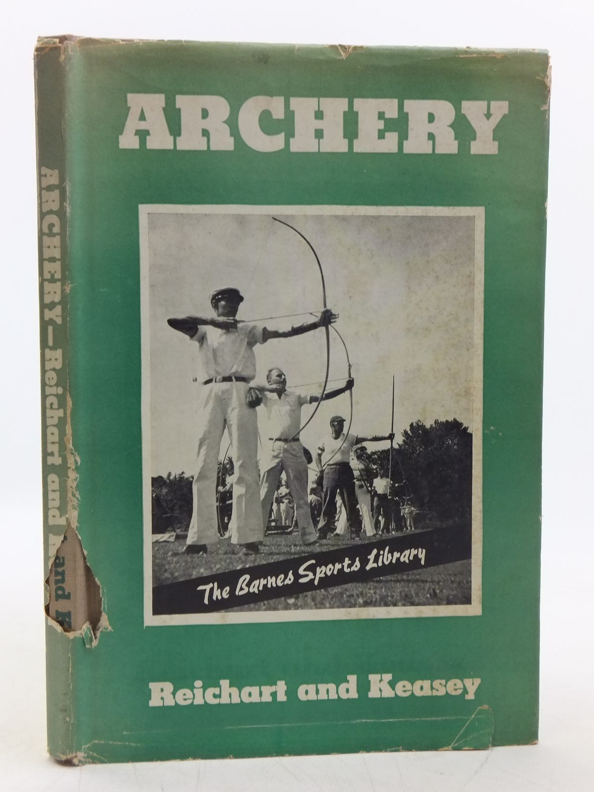 Photo of ARCHERY written by Reichart, Natalie<br />Keasey, Gilman published by A.S. Barnes and Company (STOCK CODE: 2118729)  for sale by Stella & Rose's Books