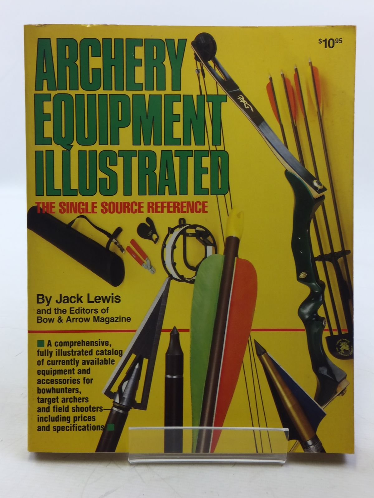 Photo of ARCHERY EQUIPMENT ILLUSTRATED written by Lewis, Jack<br />et al, published by DBI Books Inc. (STOCK CODE: 2118739)  for sale by Stella & Rose's Books