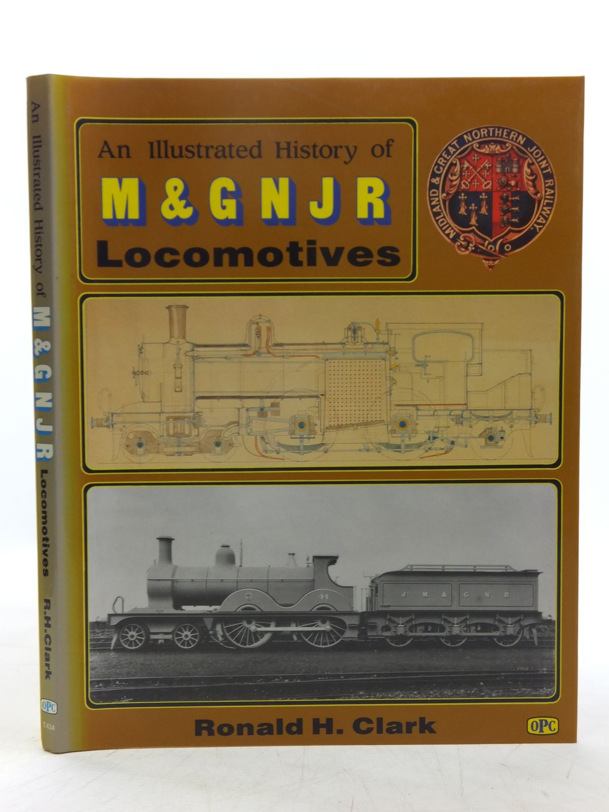 Photo of AN ILLUSTRATED HISTORY OF THE M & GNJR LOCOMOTIVES written by Clark, Ronald H. published by Oxford Publishing (STOCK CODE: 2118793)  for sale by Stella & Rose's Books