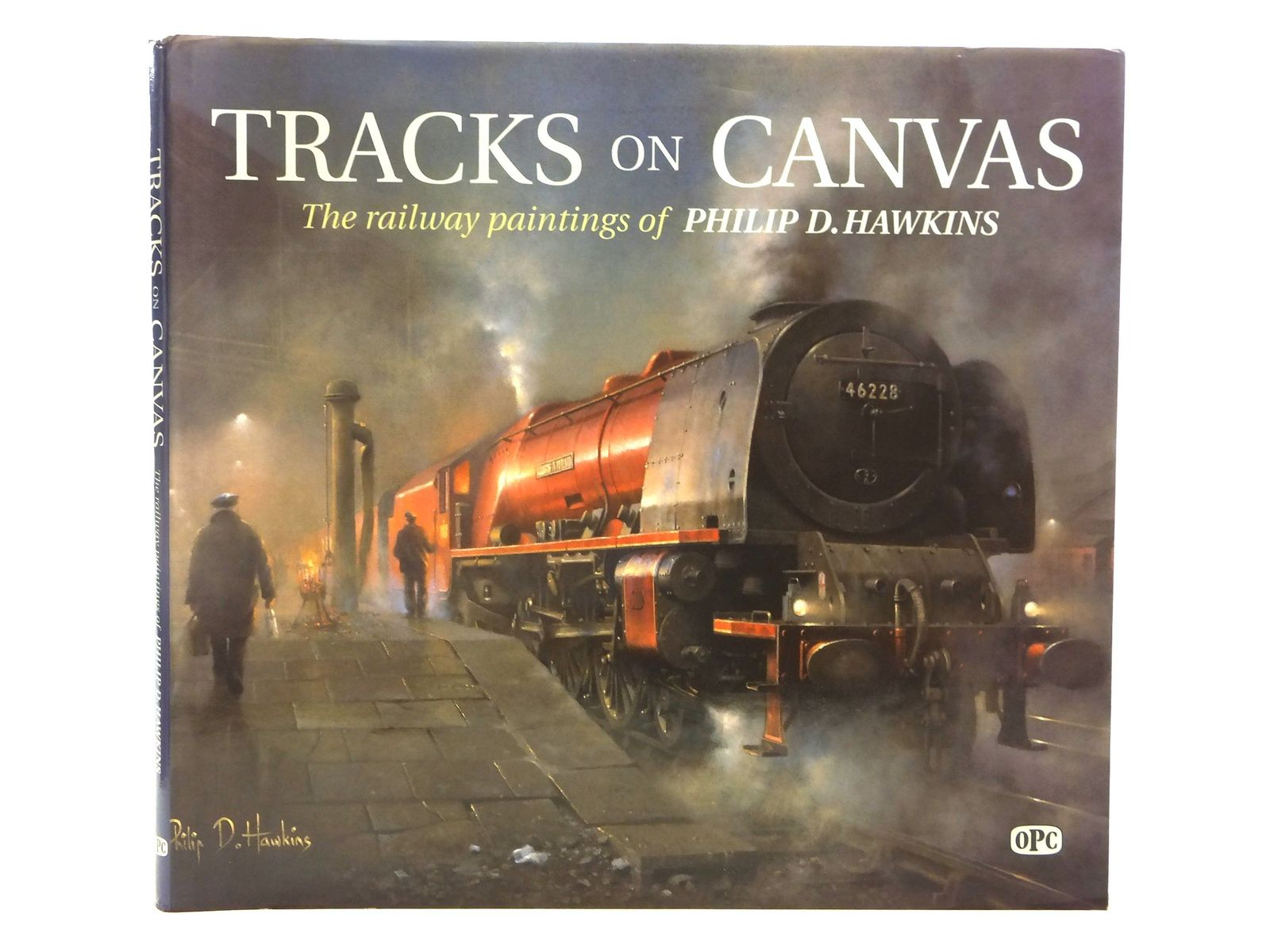 Photo of TRACKS ON CANVAS written by Hawkins, Philip D. illustrated by Hawkins, Philip D. published by Oxford Publishing (STOCK CODE: 2118812)  for sale by Stella & Rose's Books