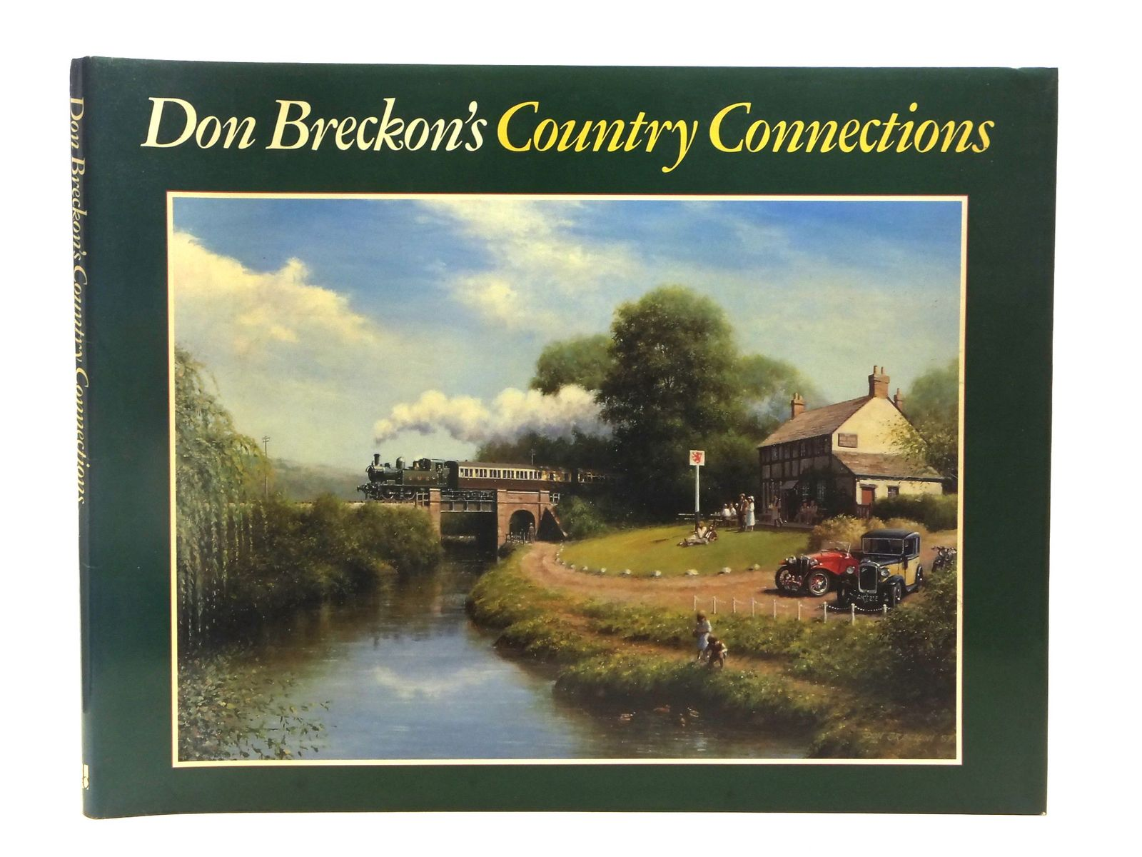 Photo of DON BRECKON'S COUNTRY CONNECTIONS written by Breckon, Don<br />Barfield, Tony<br />Kingdom, Tony<br />Pannell, Guy illustrated by Breckon, Don published by David & Charles (STOCK CODE: 2118814)  for sale by Stella & Rose's Books