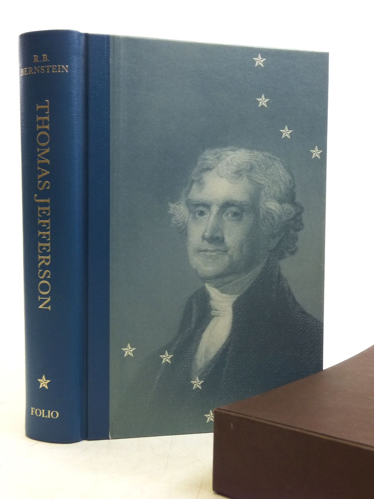 Photo of THOMAS JEFFERSON written by Bernstein, R.B. published by Folio Society (STOCK CODE: 2118898)  for sale by Stella & Rose's Books