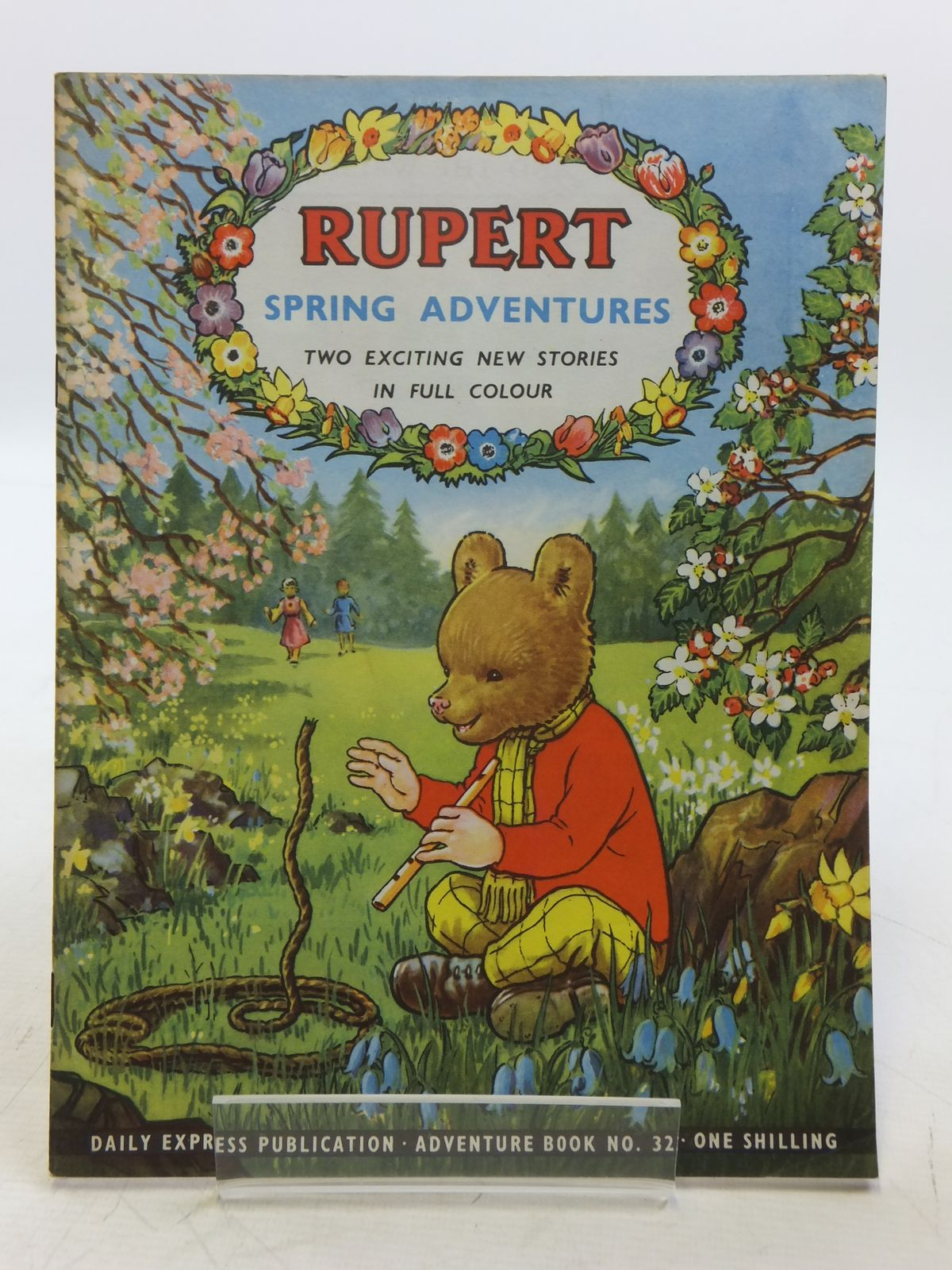 Photo of RUPERT ADVENTURE BOOK No. 32 - SPRING ADVENTURES written by Bestall, Alfred published by Daily Express (STOCK CODE: 2118934)  for sale by Stella & Rose's Books
