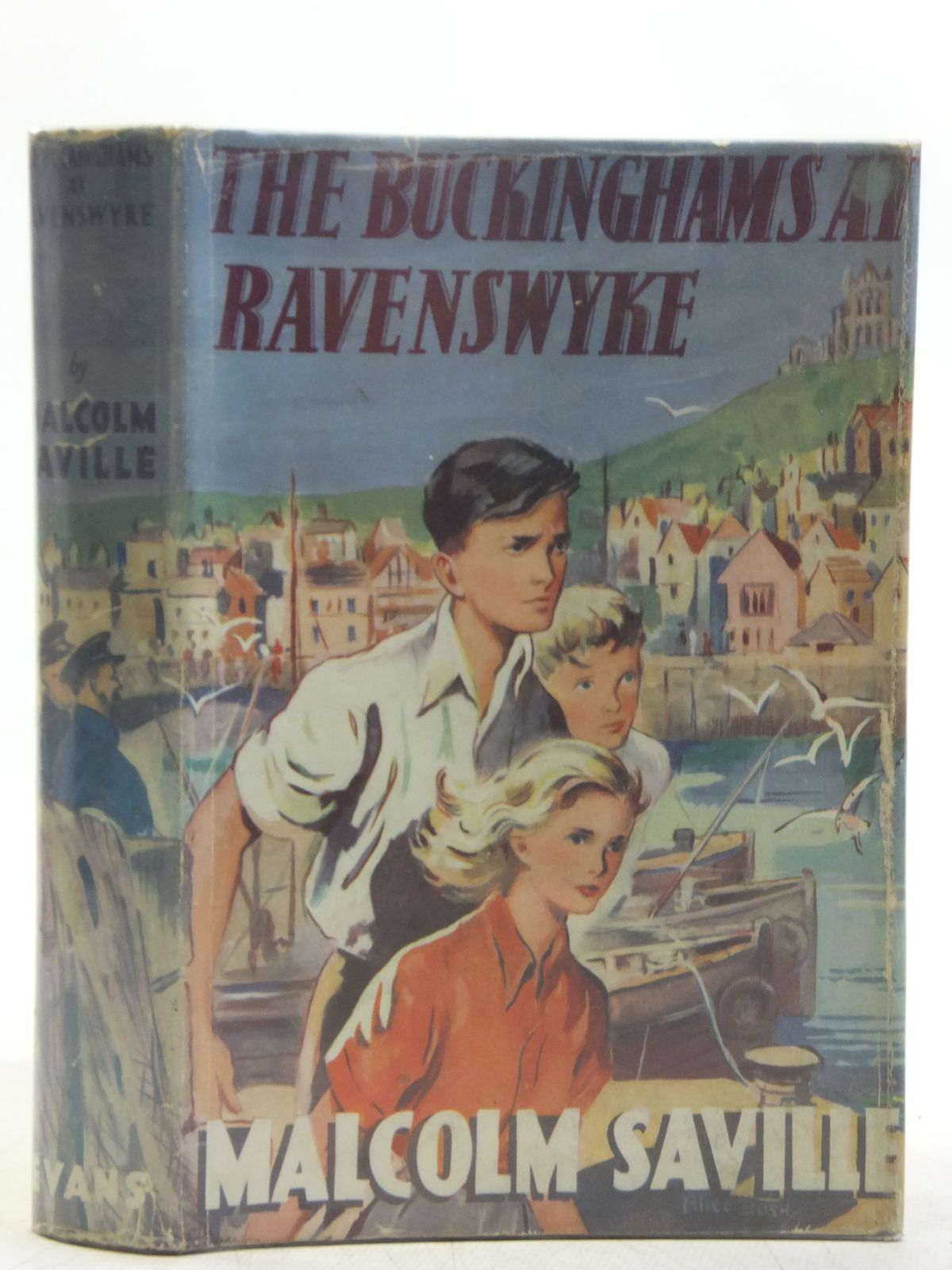 Photo of THE BUCKINGHAMS AT RAVENSWYKE written by Saville, Malcolm illustrated by Bush, Alice published by Evans Brothers Limited (STOCK CODE: 2118941)  for sale by Stella & Rose's Books