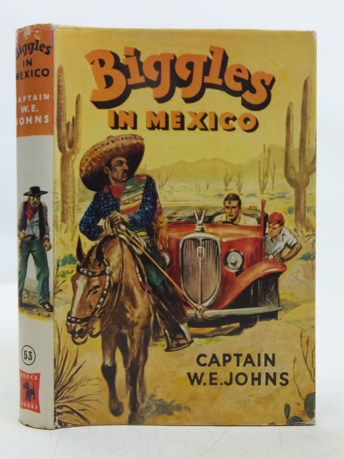 Photo of BIGGLES IN MEXICO written by Johns, W.E. illustrated by Stead, Leslie published by Brockhampton Press (STOCK CODE: 2118964)  for sale by Stella & Rose's Books