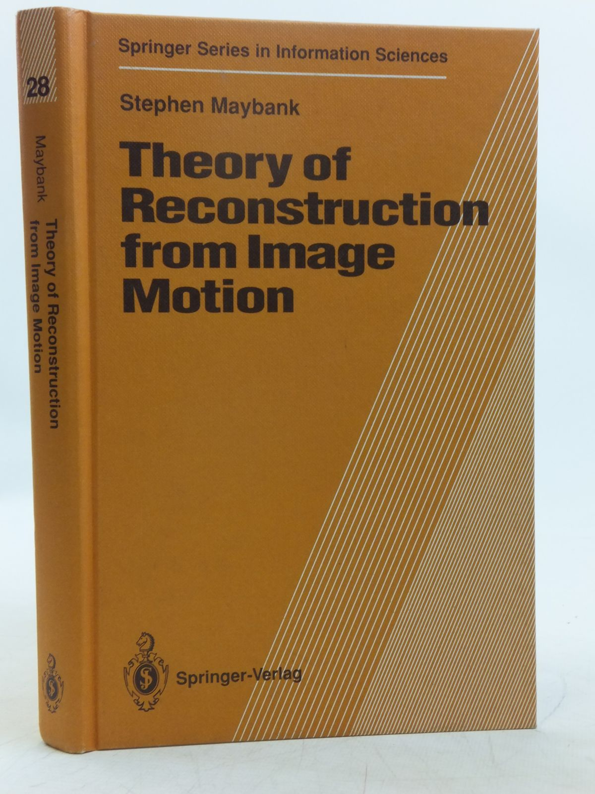 Photo of THEORY OF RECONSTRUCTION FROM IMAGE MOTION written by Maybank, Stephen published by Springer-Verlag (STOCK CODE: 2118967)  for sale by Stella & Rose's Books