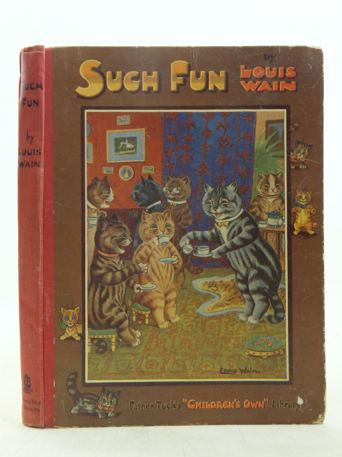 Photo of SUCH FUN written by Gale, Norman<br />Floyd, Grace C.<br />et al, illustrated by Wain, Louis published by Raphael Tuck & Sons Ltd. (STOCK CODE: 2119056)  for sale by Stella & Rose's Books
