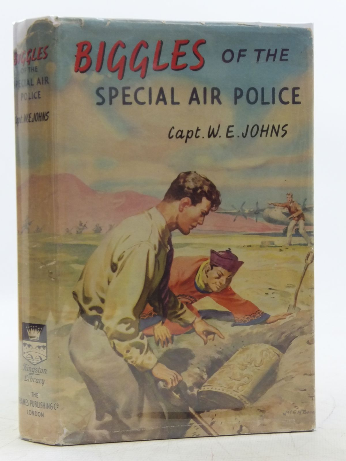 Photo of BIGGLES OF THE SPECIAL AIR POLICE written by Johns, W.E. published by The Thames Publishing Co. (STOCK CODE: 2119069)  for sale by Stella & Rose's Books