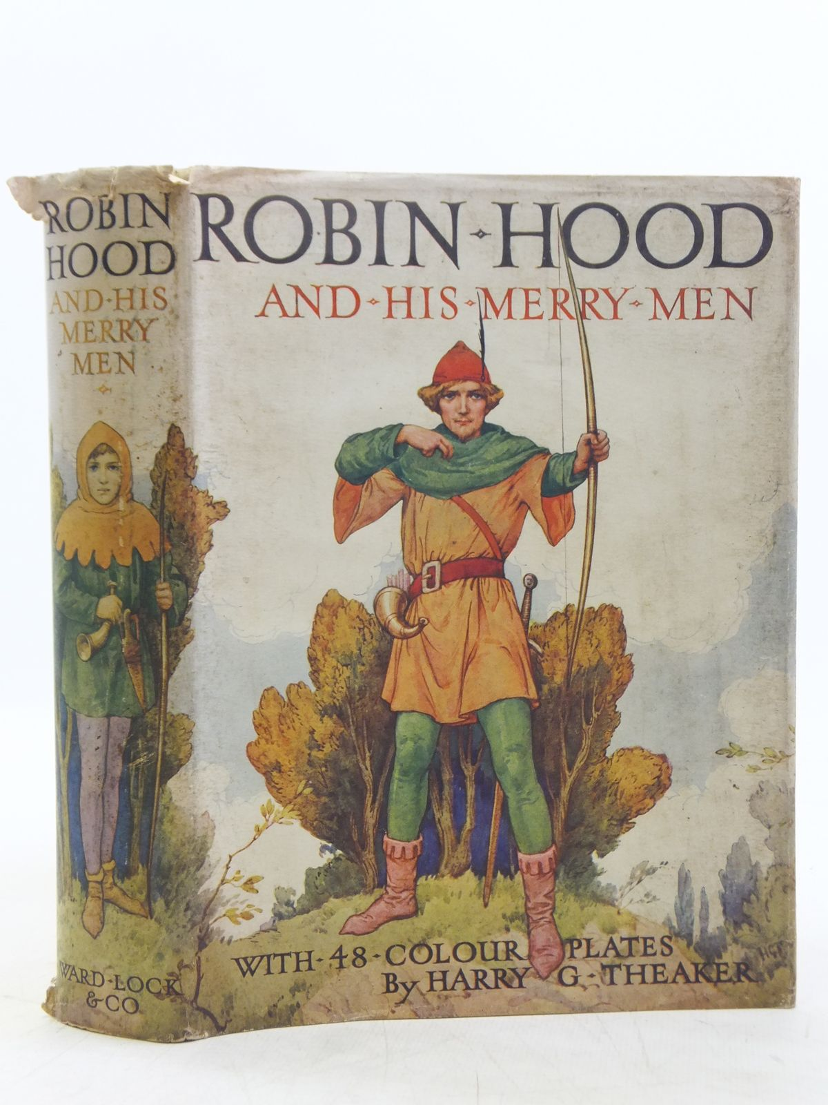Photo of ROBIN HOOD AND HIS MERRY MEN written by Vivian, E. Charles illustrated by Theaker, Harry published by Ward Lock & Co Ltd. (STOCK CODE: 2119077)  for sale by Stella & Rose's Books
