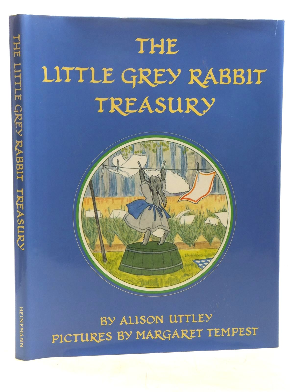 Photo of THE LITTLE GREY RABBIT TREASURY written by Uttley, Alison illustrated by Tempest, Margaret published by Heinemann Young Books (STOCK CODE: 2119080)  for sale by Stella & Rose's Books