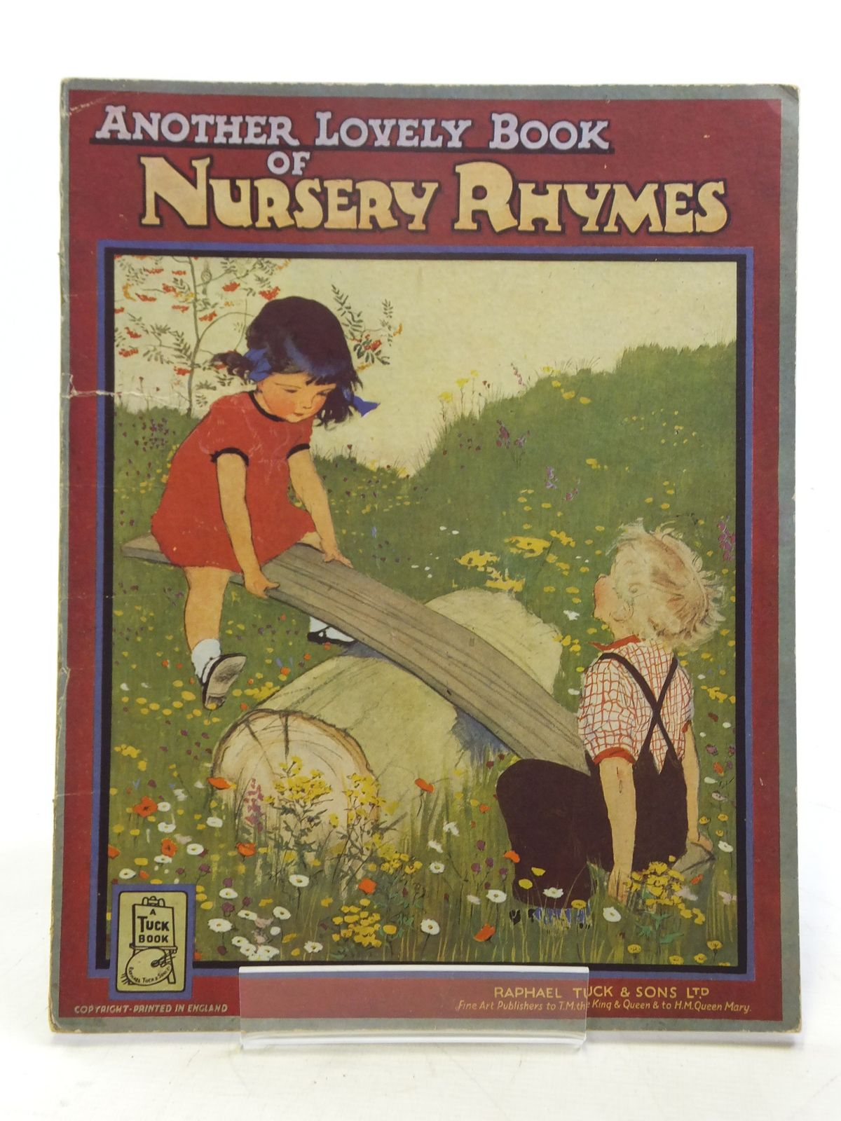 Photo of ANOTHER LOVELY BOOK OF NURSERY RHYMES illustrated by Dawson, Muriel published by Raphael Tuck & Sons Ltd. (STOCK CODE: 2119091)  for sale by Stella & Rose's Books