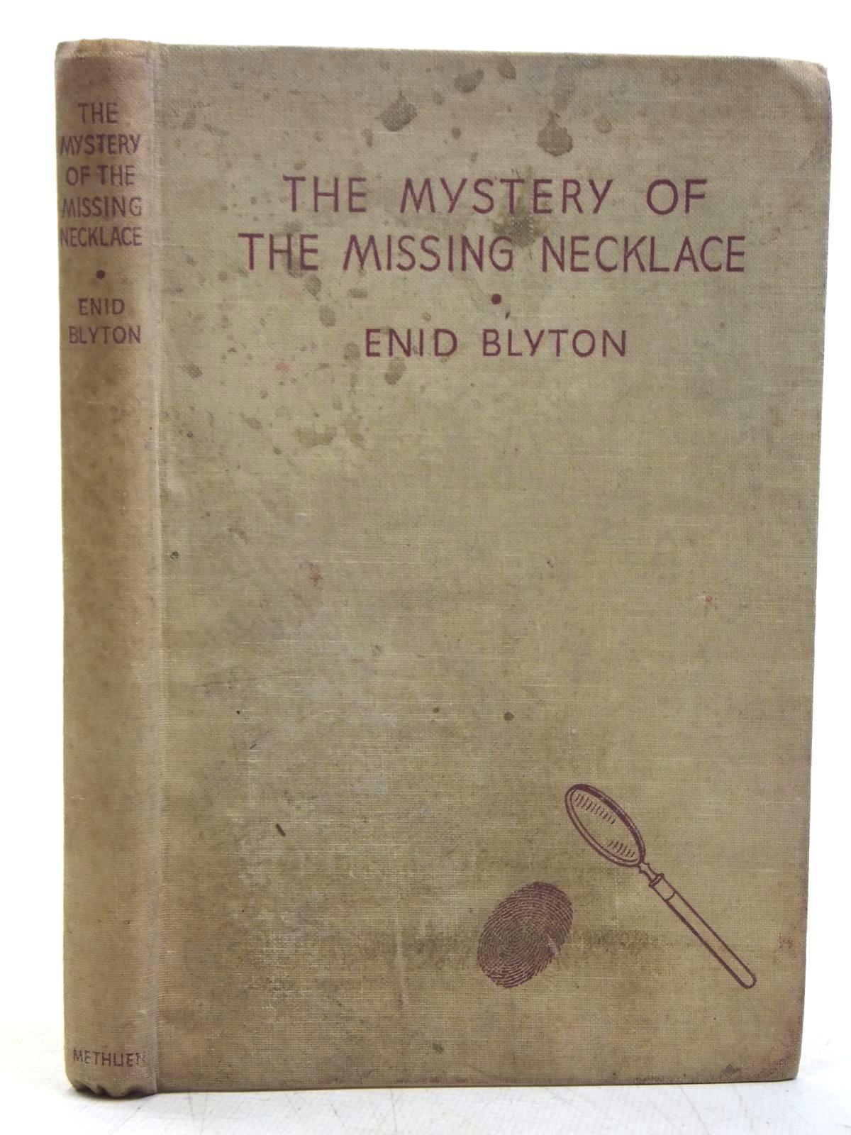 Photo of THE MYSTERY OF THE MISSING NECKLACE written by Blyton, Enid illustrated by Abbey, J. published by Methuen & Co. Ltd. (STOCK CODE: 2119134)  for sale by Stella & Rose's Books