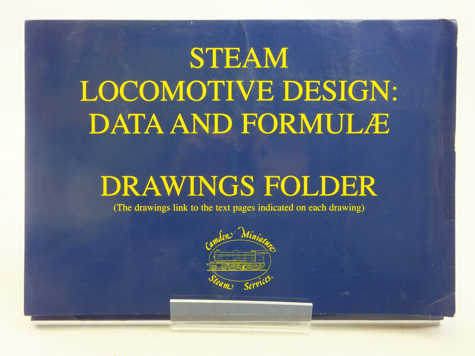 Photo of STEAM LOCOMOTIVE DESIGN: DATA AND FORMULAE DRAWINGS FOLDER published by Camden Miniature Steam Services (STOCK CODE: 2119159)  for sale by Stella & Rose's Books