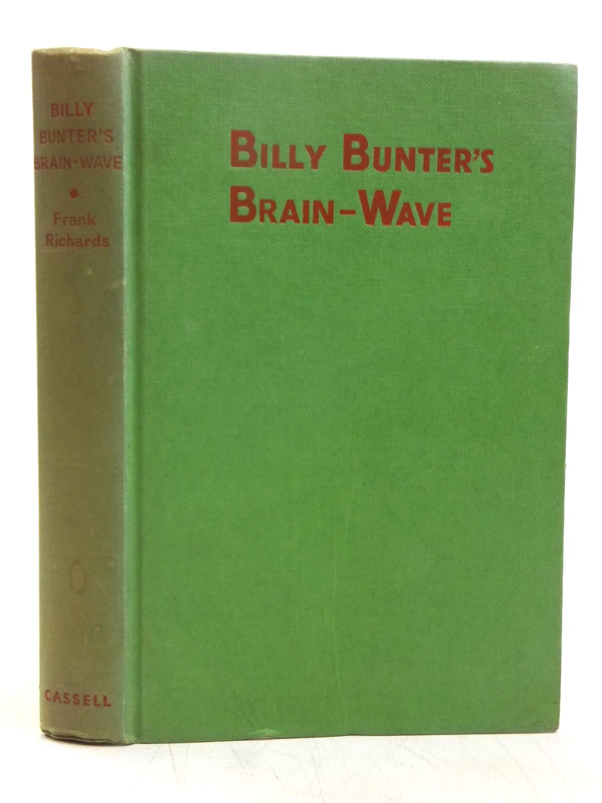 Photo of BILLY BUNTER'S BRAIN-WAVE