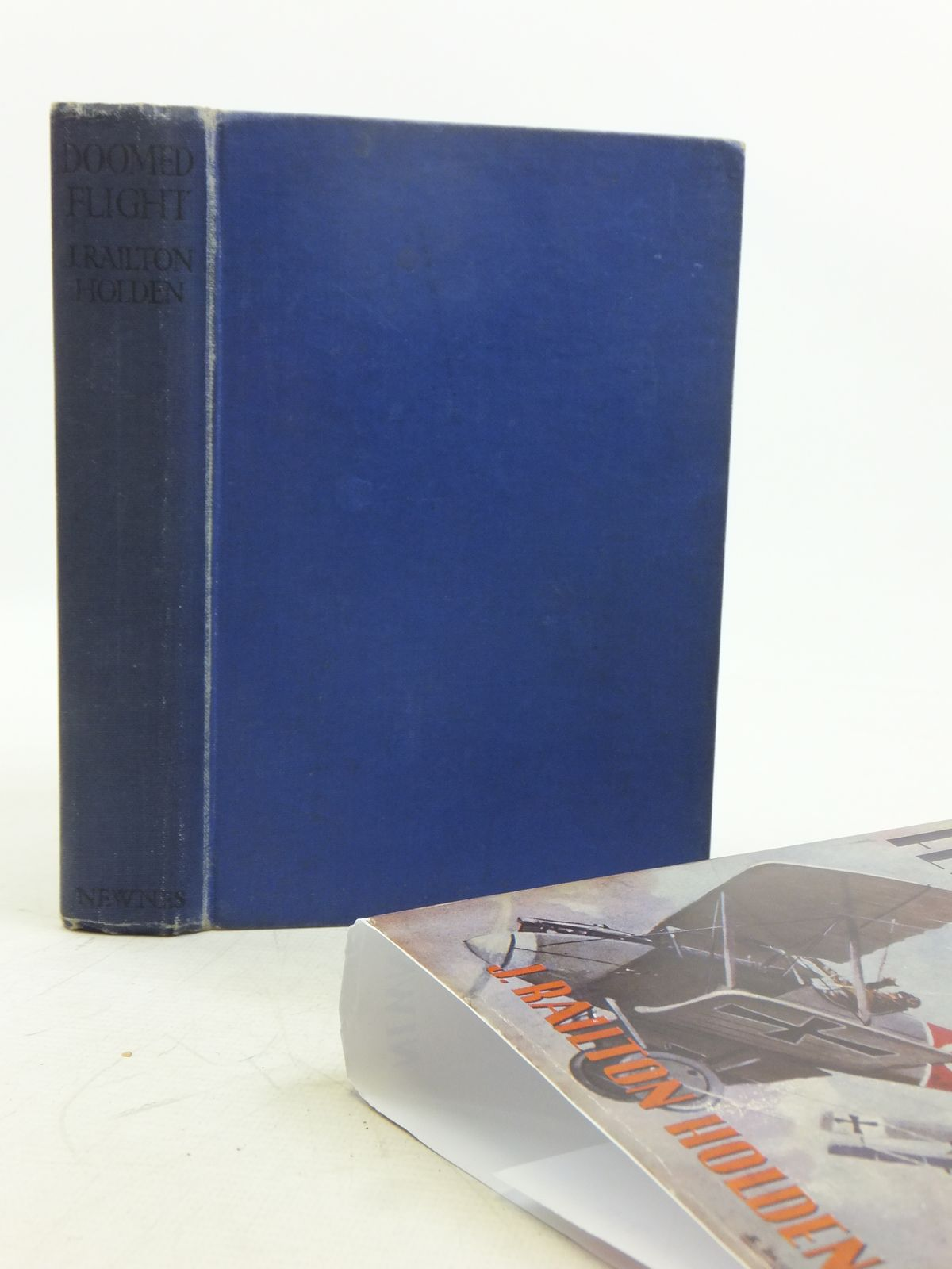 Photo of DOOMED FLIGHT written by Holden, J. Railton published by Newnes (STOCK CODE: 2119169)  for sale by Stella & Rose's Books