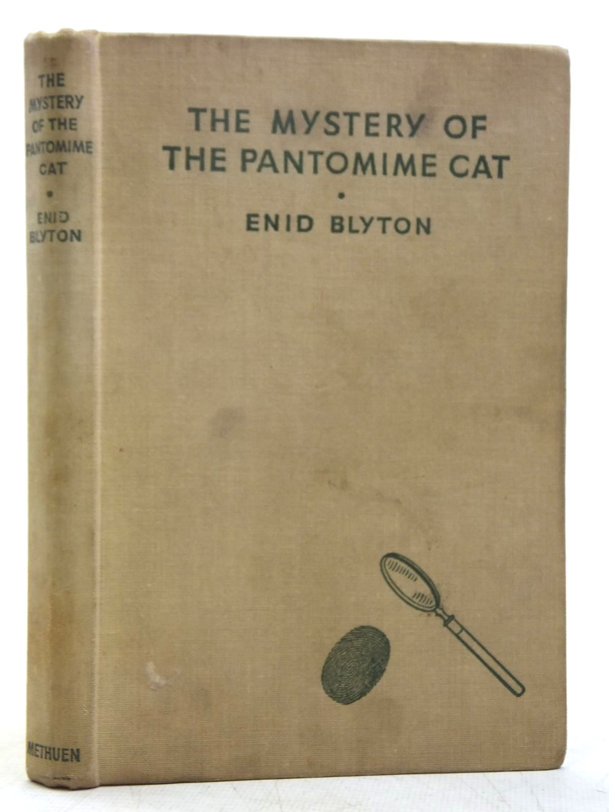 Photo of THE MYSTERY OF THE PANTOMIME CAT written by Blyton, Enid illustrated by Abbey, J. published by Methuen & Co. Ltd. (STOCK CODE: 2119182)  for sale by Stella & Rose's Books