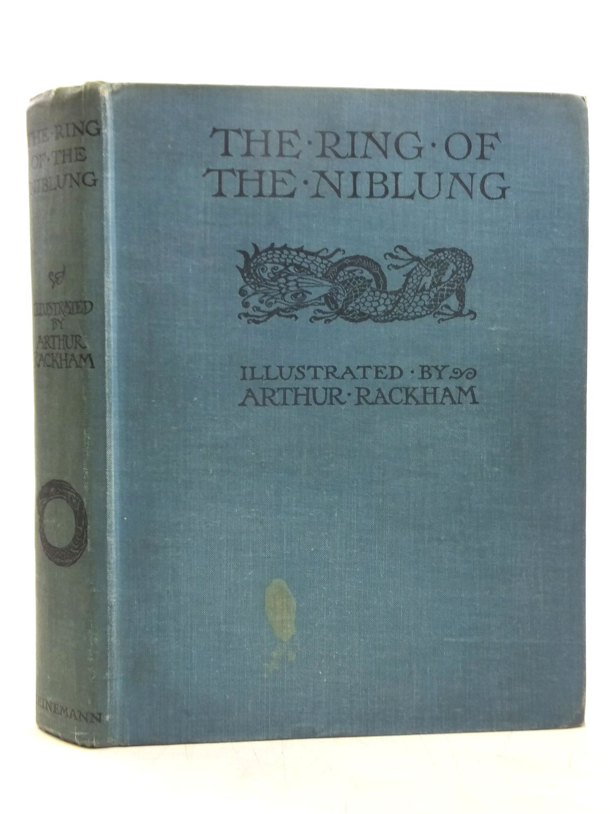 Photo of THE RING OF THE NIBLUNG written by Wagner, Richard illustrated by Rackham, Arthur published by William Heinemann Ltd. (STOCK CODE: 2119205)  for sale by Stella & Rose's Books