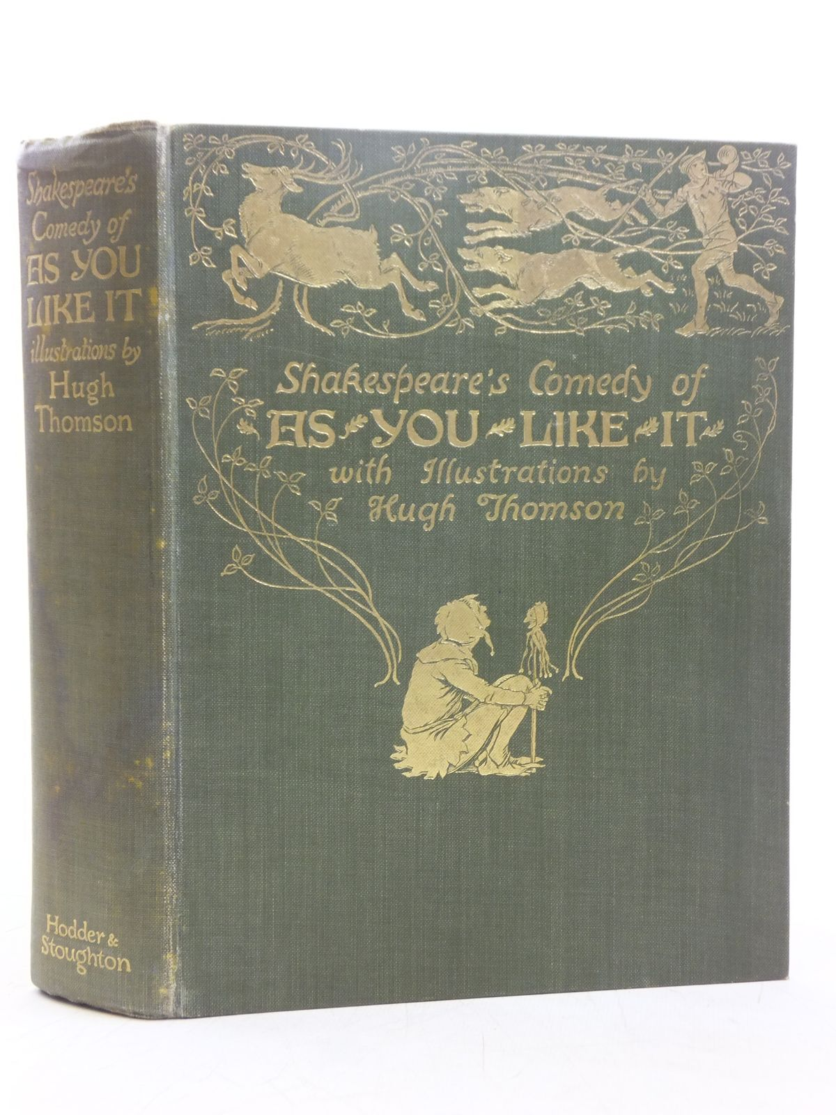 Photo of SHAKESPEARE'S COMEDY - AS YOU LIKE IT written by Shakespeare, William illustrated by Thomson, Hugh published by Hodder & Stoughton (STOCK CODE: 2119206)  for sale by Stella & Rose's Books