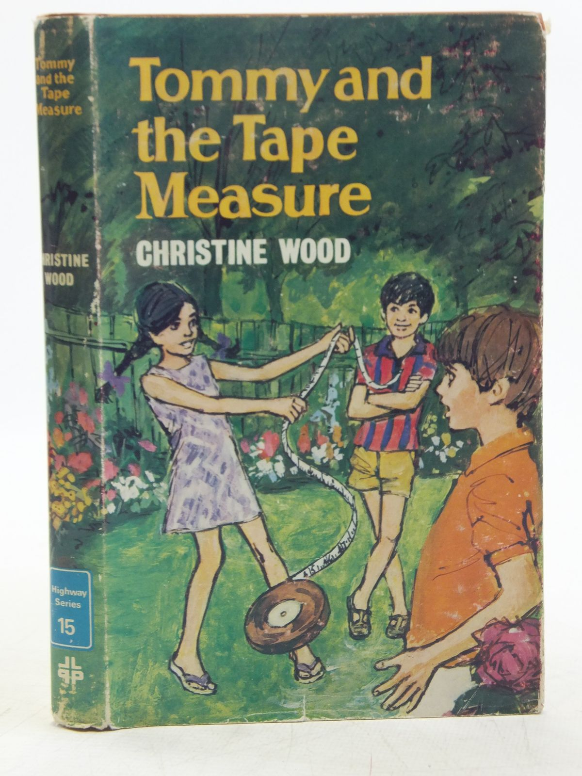 Photo of TOMMY AND THE TAPE MEASURE written by Wood, Christine published by Lutterworth Press (STOCK CODE: 2119227)  for sale by Stella & Rose's Books