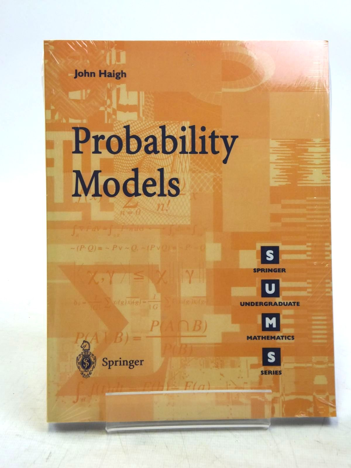 Photo of PROBABILITY MODELS written by Haigh, John published by Springer (STOCK CODE: 2119271)  for sale by Stella & Rose's Books