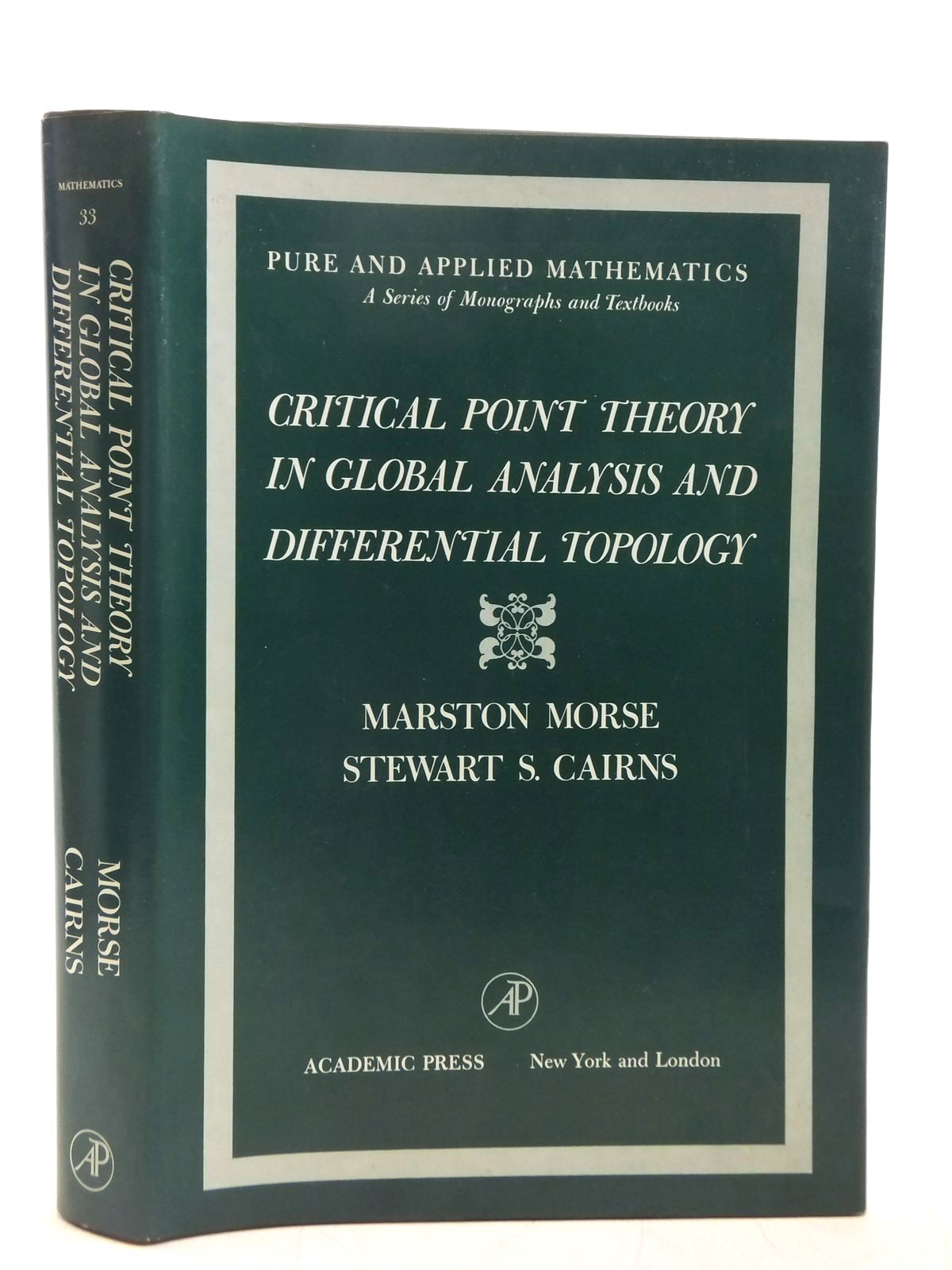 CRITICAL POINT THEORY IN GLOBAL ANALYSIS AND DIFFERENTIAL
