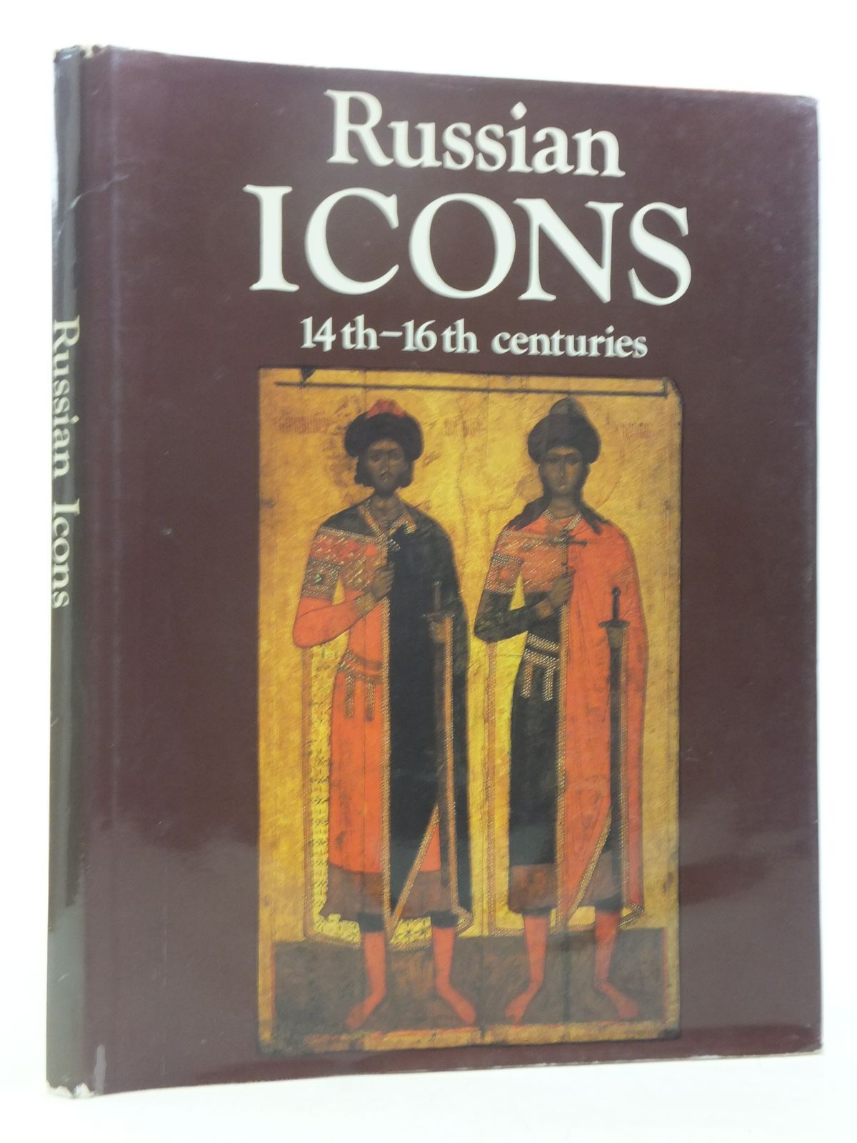 Photo of RUSSIAN ICONS 14TH - 16TH CENTURIES written by Kyzlasova, Irina<br />Volynets, Sergei published by Aurora Art Publishers (STOCK CODE: 2119291)  for sale by Stella & Rose's Books