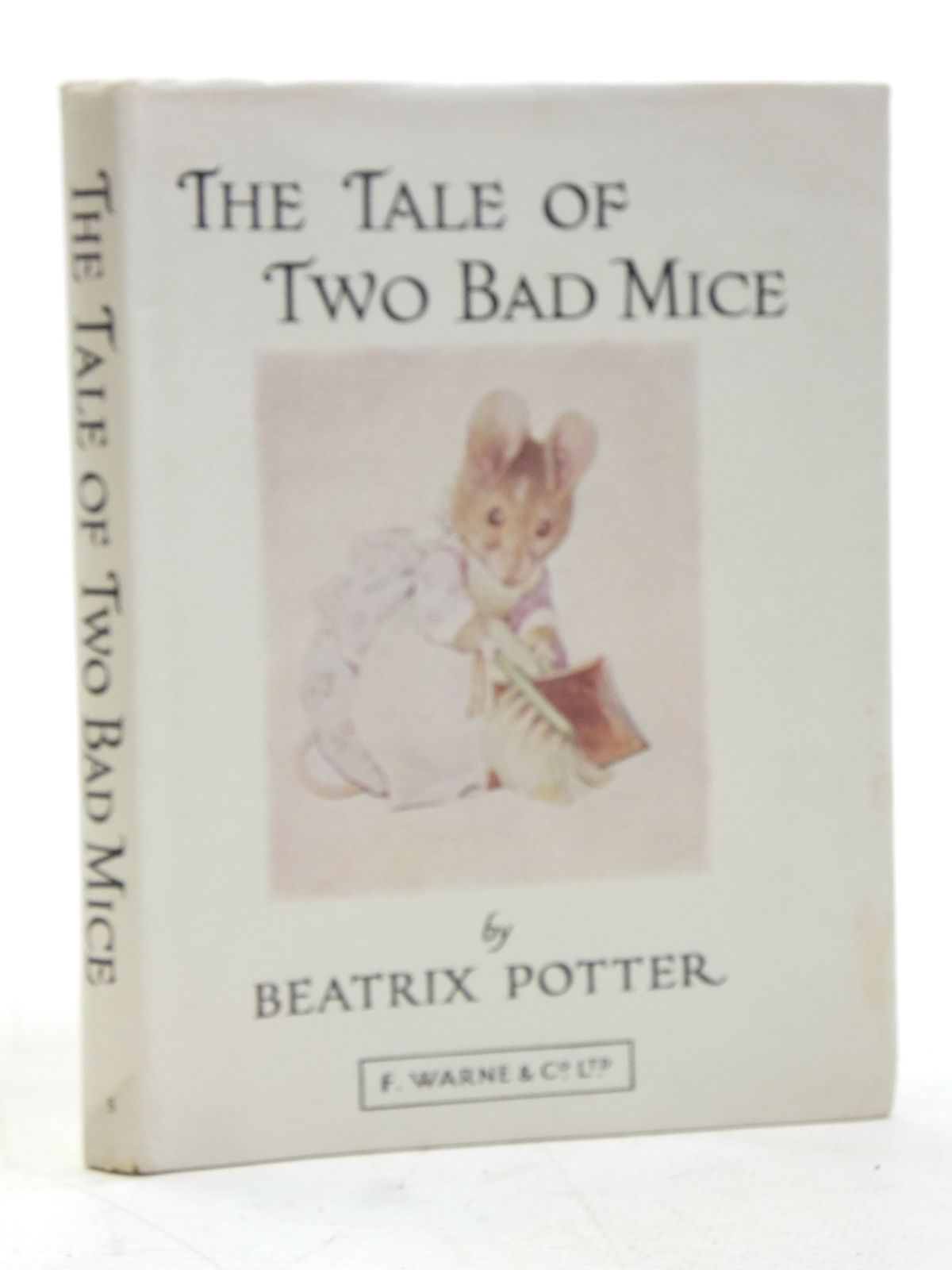 Photo of THE TALE OF TWO BAD MICE written by Potter, Beatrix illustrated by Potter, Beatrix published by Frederick Warne & Co Ltd. (STOCK CODE: 2119302)  for sale by Stella & Rose's Books