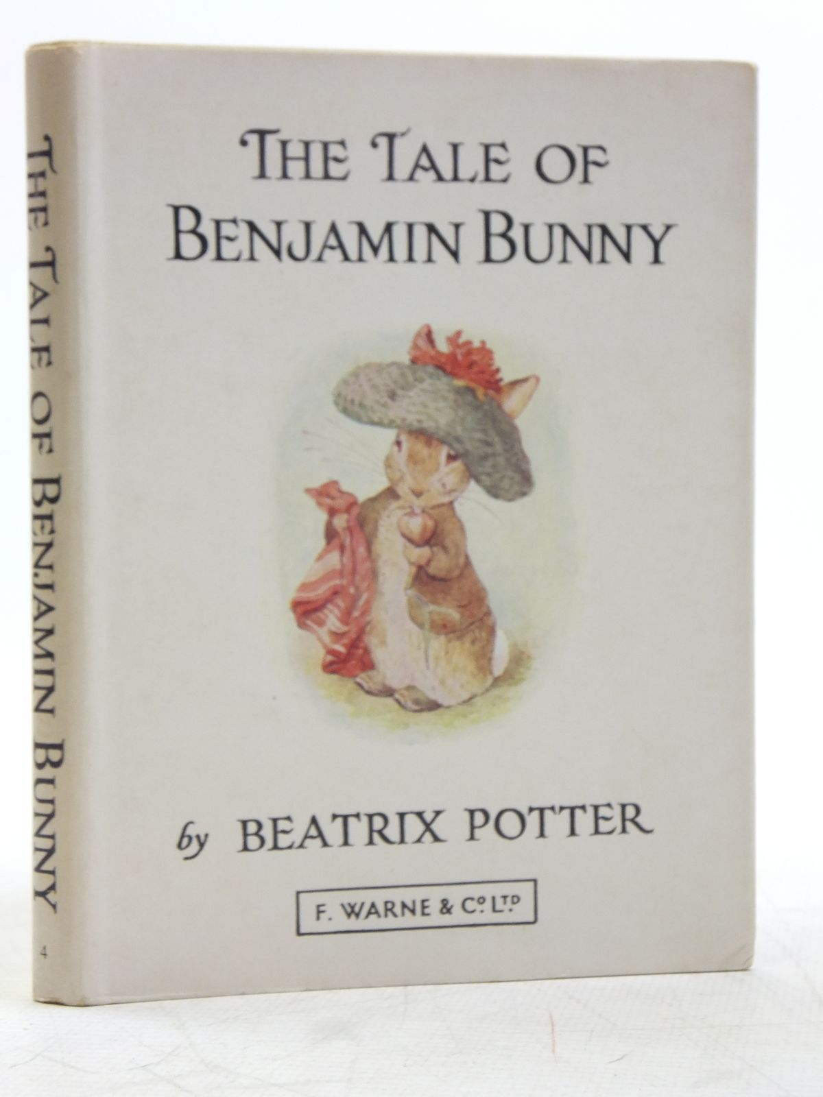 Photo of THE TALE OF BENJAMIN BUNNY written by Potter, Beatrix illustrated by Potter, Beatrix published by Frederick Warne & Co Ltd. (STOCK CODE: 2119305)  for sale by Stella & Rose's Books