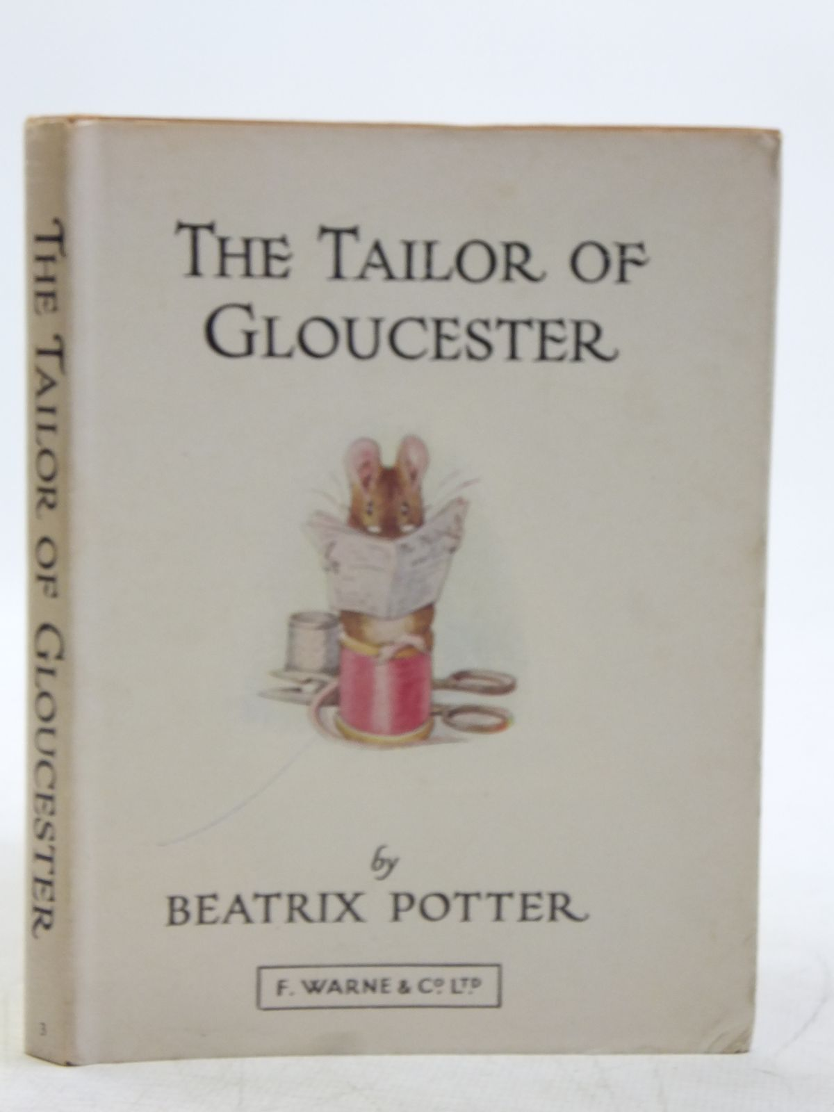 Photo of THE TAILOR OF GLOUCESTER written by Potter, Beatrix illustrated by Potter, Beatrix published by Frederick Warne & Co Ltd. (STOCK CODE: 2119325)  for sale by Stella & Rose's Books