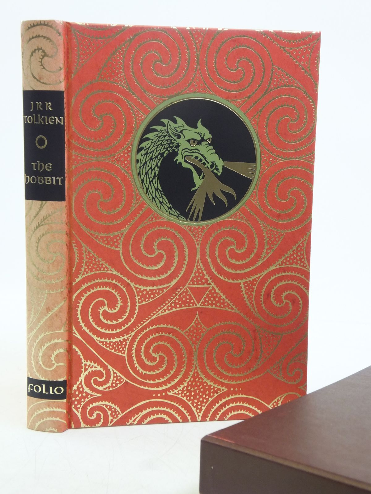 Photo of THE HOBBIT written by Tolkien, J.R.R. illustrated by Fraser, Eric published by Folio Society (STOCK CODE: 2119346)  for sale by Stella & Rose's Books