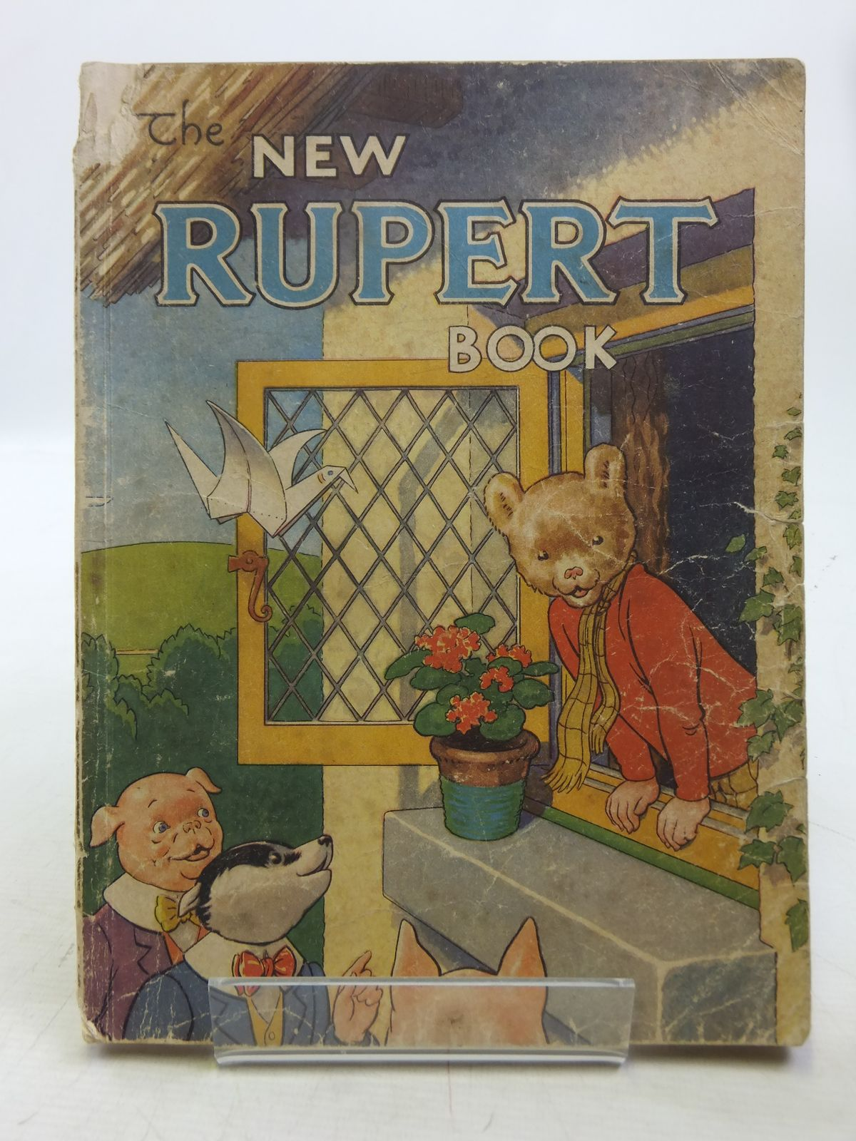 Photo of RUPERT ANNUAL 1946 - THE NEW RUPERT BOOK written by Bestall, Alfred illustrated by Bestall, Alfred published by Daily Express (STOCK CODE: 2119363)  for sale by Stella & Rose's Books