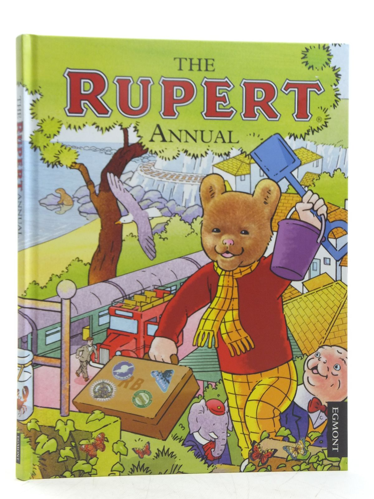 Photo of RUPERT ANNUAL 2012 written by Harwood, Beth<br />Trotter, Stuart illustrated by Trotter, Stuart<br />Bestall, Alfred published by Egmont Uk Limited (STOCK CODE: 2119408)  for sale by Stella & Rose's Books