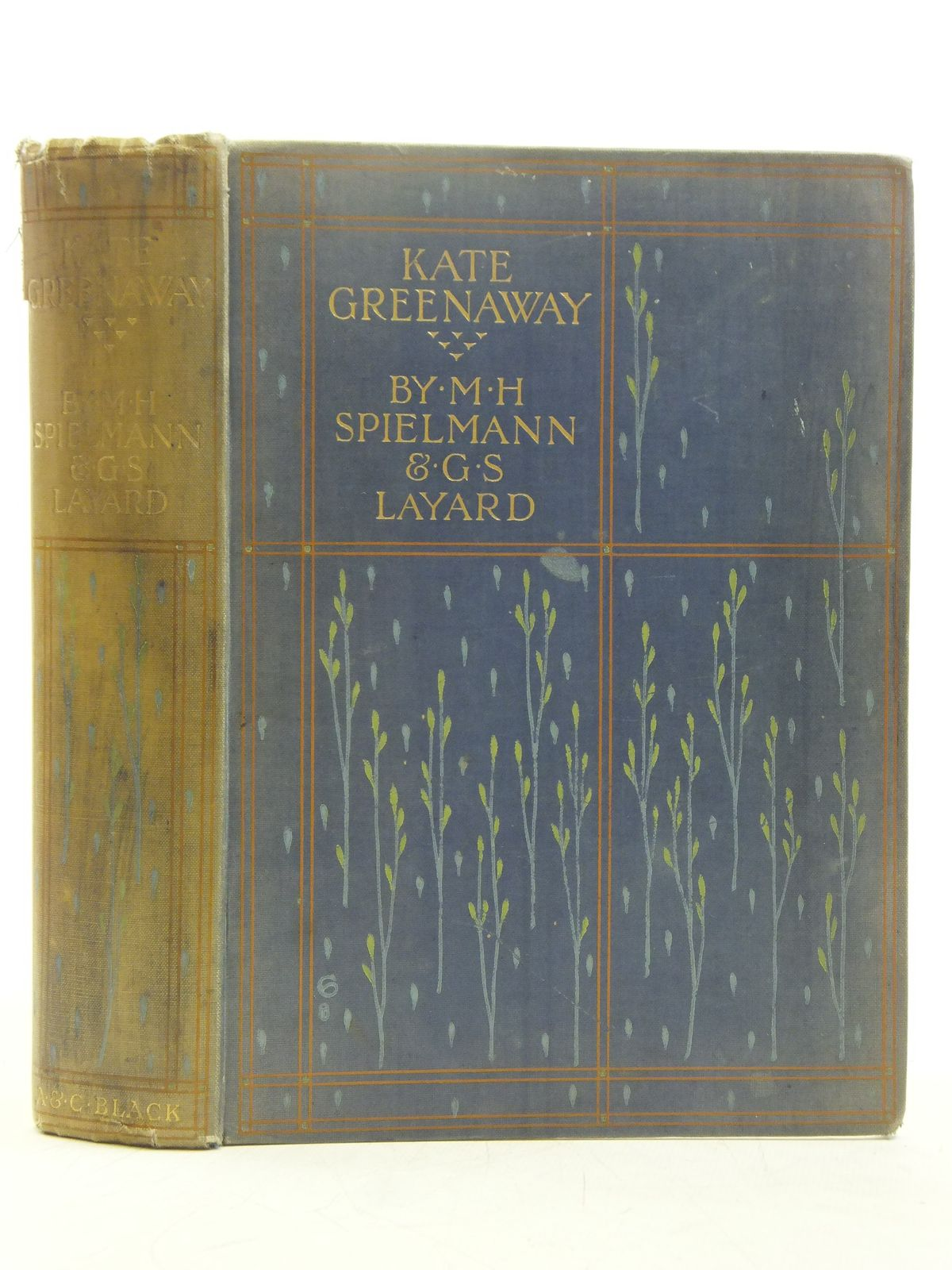 Photo of KATE GREENAWAY written by Spielmann, M.H.<br />Layard, G.S. illustrated by Greenaway, Kate published by Adam & Charles Black (STOCK CODE: 2119424)  for sale by Stella & Rose's Books