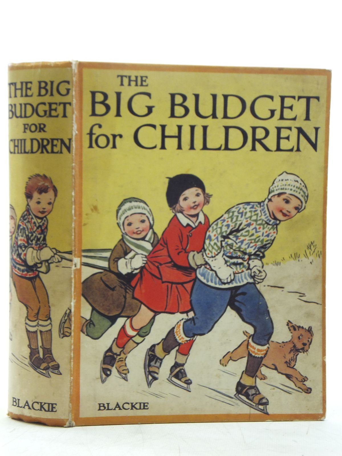 Photo of THE BIG BUDGET FOR CHILDREN written by Joan, Natalie<br />Holmes, W. Kersley<br />Talbot, Ethel<br />Herbertson, Agnes Grozier<br />et al, illustrated by Brock, R.H.<br />et al., published by Blackie & Son Ltd. (STOCK CODE: 2119425)  for sale by Stella & Rose's Books