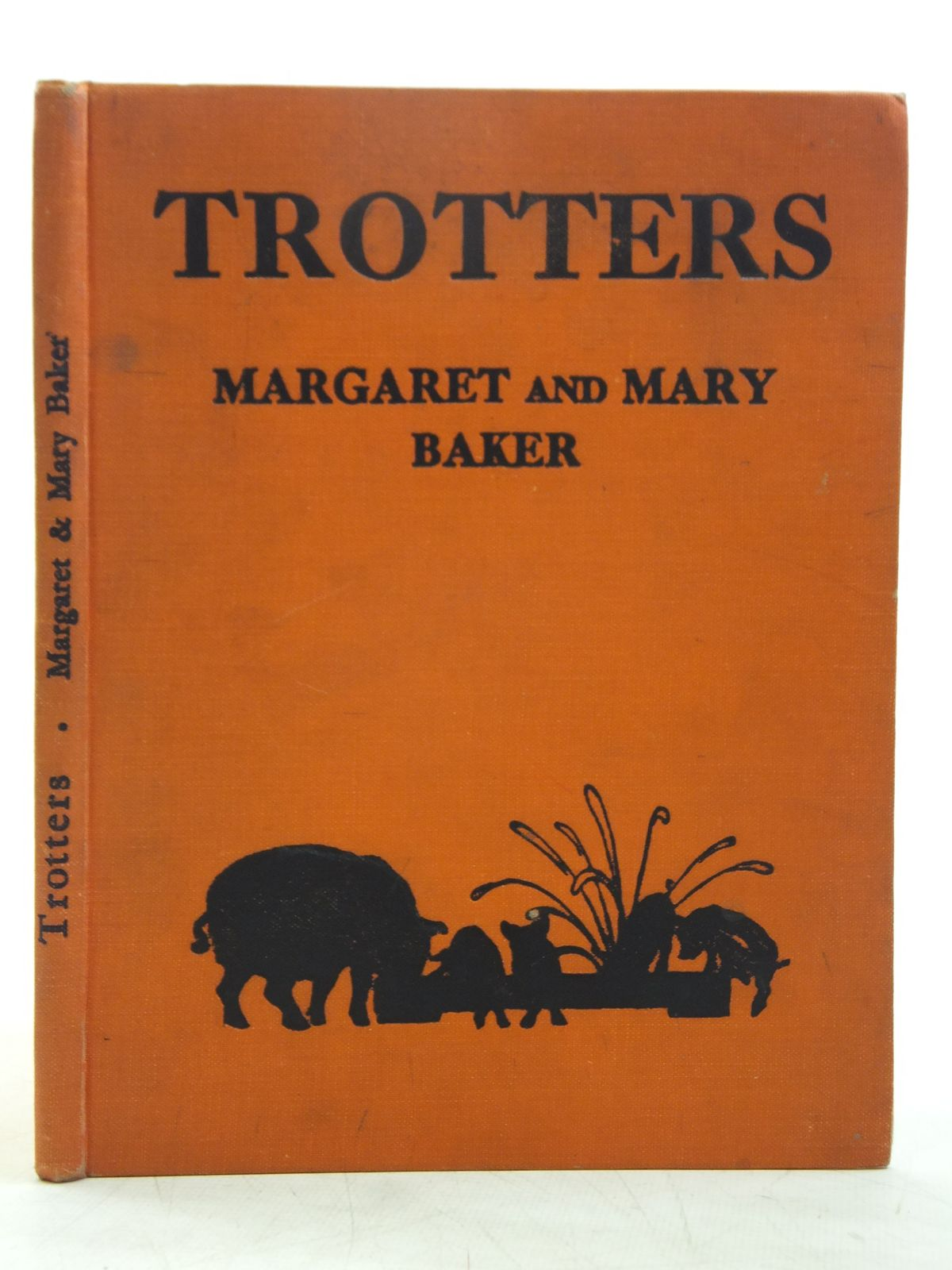 Photo of TROTTERS written by Baker, Margaret illustrated by Baker, Mary published by Basil Blackwell (STOCK CODE: 2119454)  for sale by Stella & Rose's Books