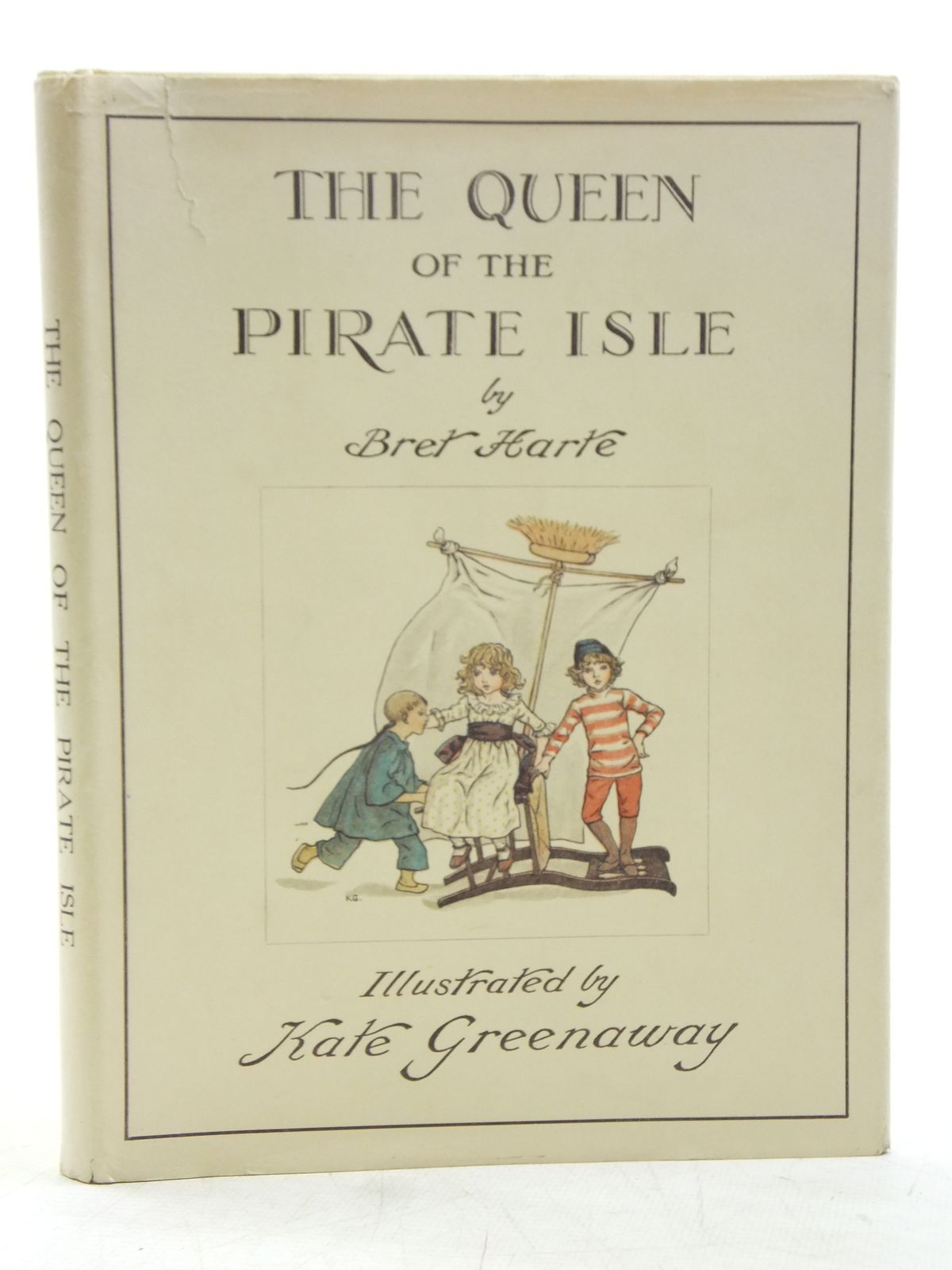 Photo of THE QUEEN OF THE PIRATE ISLE written by Harte, Bret illustrated by Greenaway, Kate published by Frederick Warne & Co. (STOCK CODE: 2119455)  for sale by Stella & Rose's Books