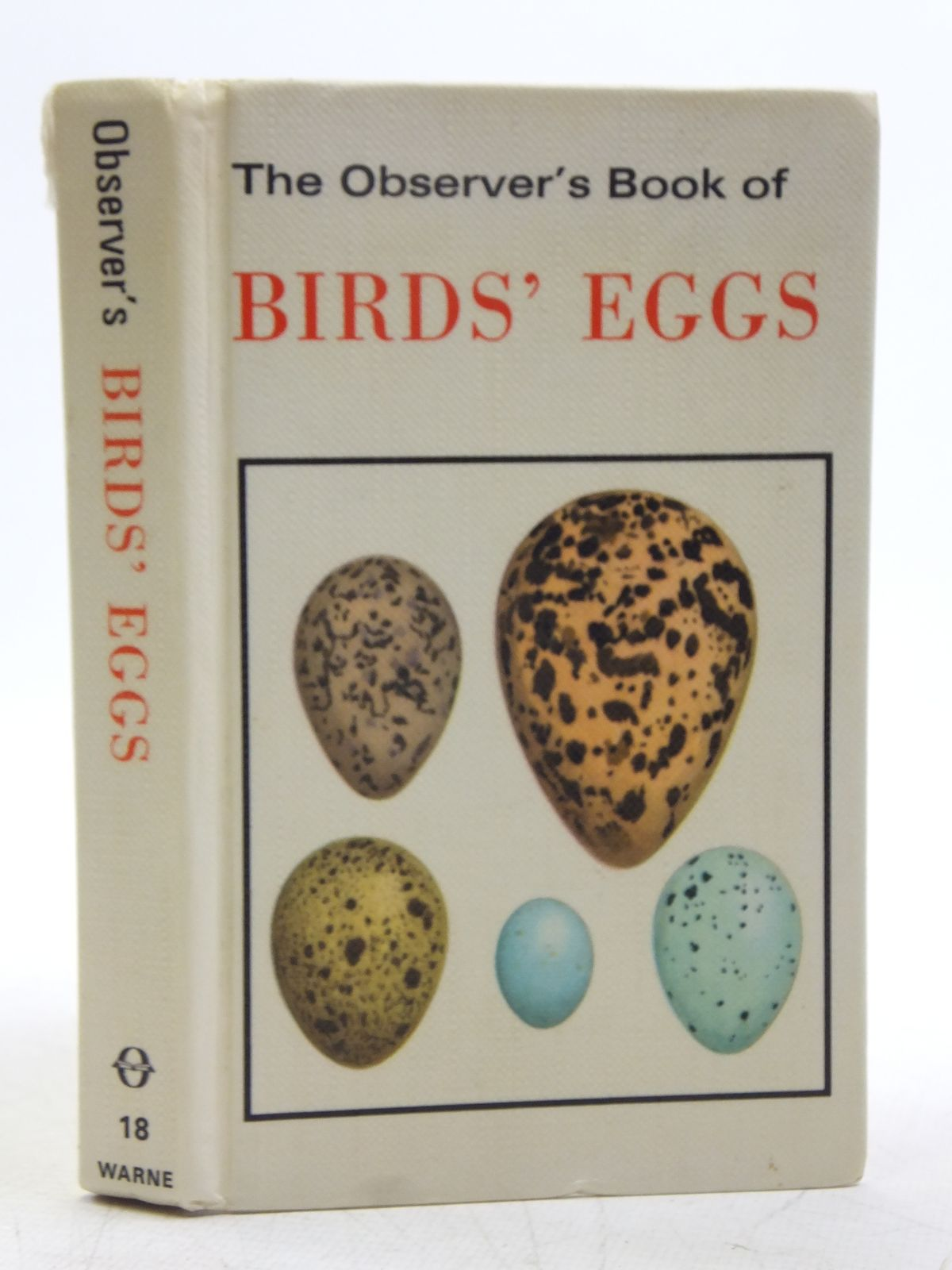 Photo of THE OBSERVER'S BOOK OF BIRDS' EGGS