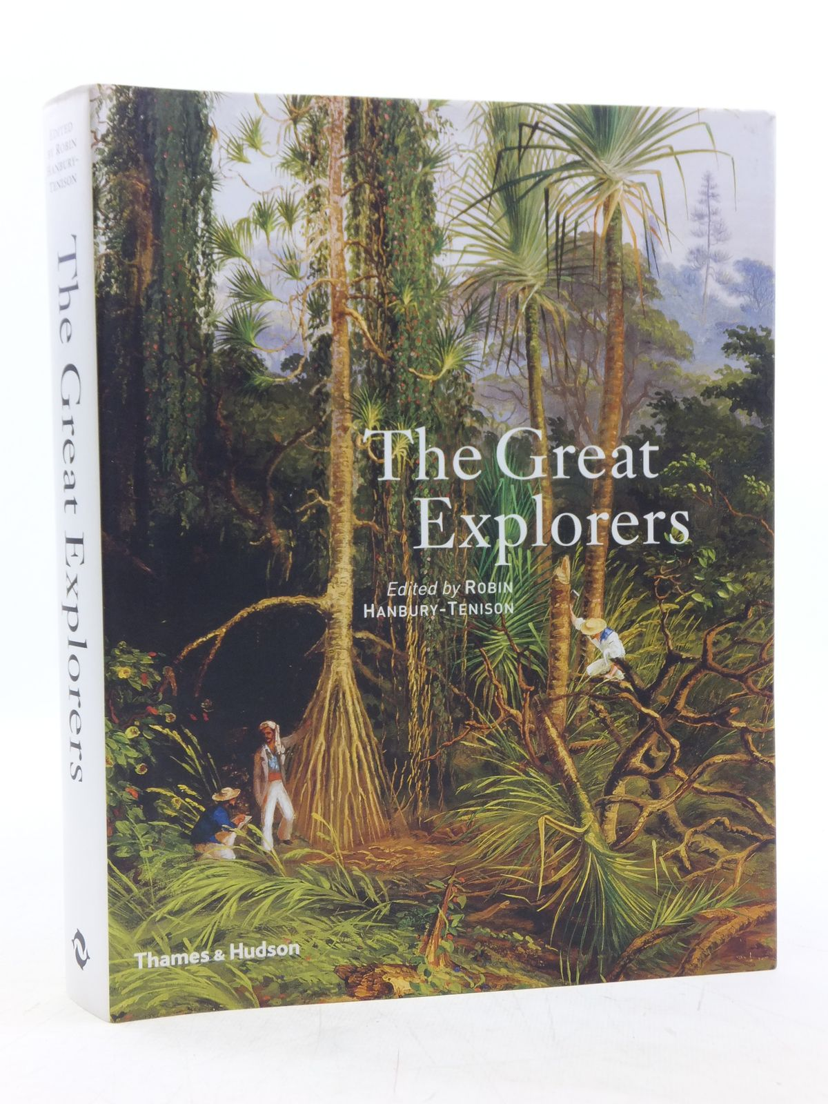 Photo of THE GREAT EXPLORERS written by Hanbury-Tenison, Robin published by Thames and Hudson (STOCK CODE: 2119512)  for sale by Stella & Rose's Books